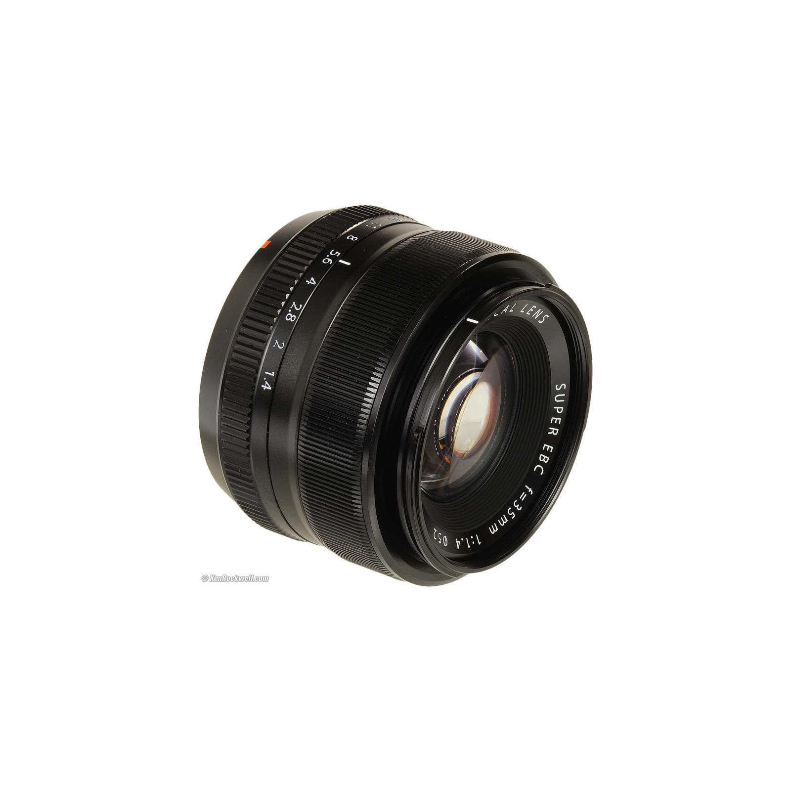 Объектив Fujifilm XF-35mm F1.4 R (16240755) изображение 5