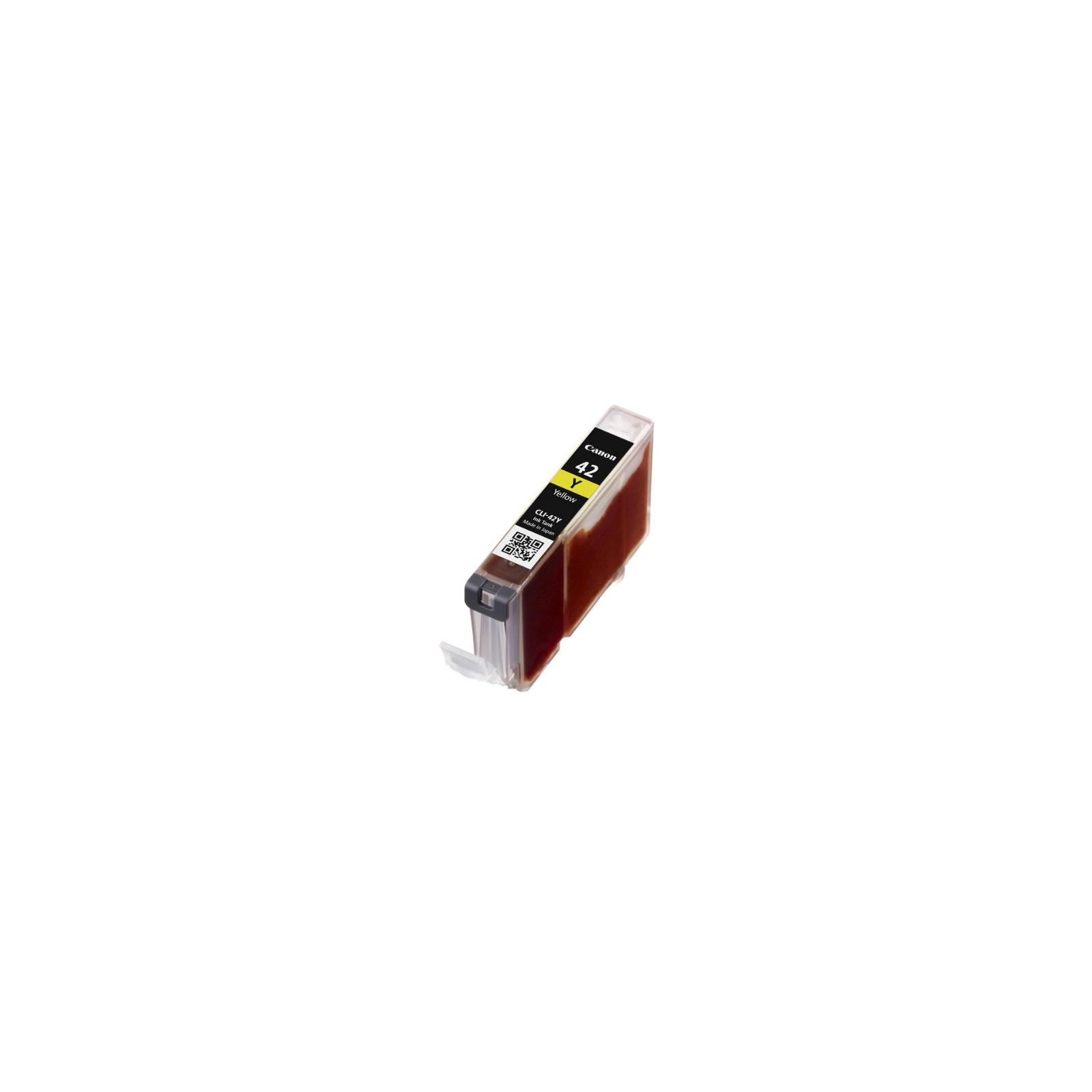 Картридж Canon CLI-42 Yellow для PIXMA PRO-100 (6387B001) изображение 3