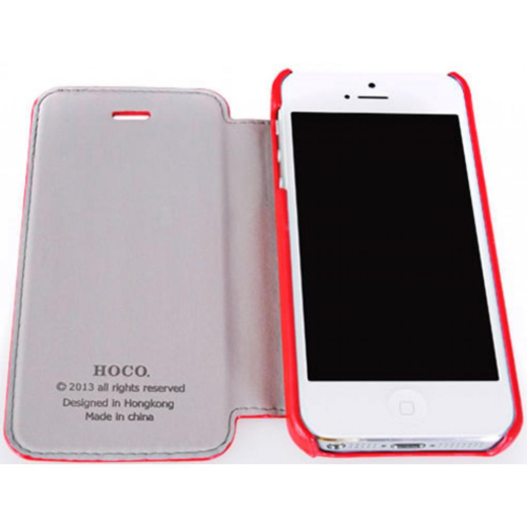 Чехол для моб. телефона HOCO для iPhone 5C /Crystal (HI-L038 Red) изображение 3
