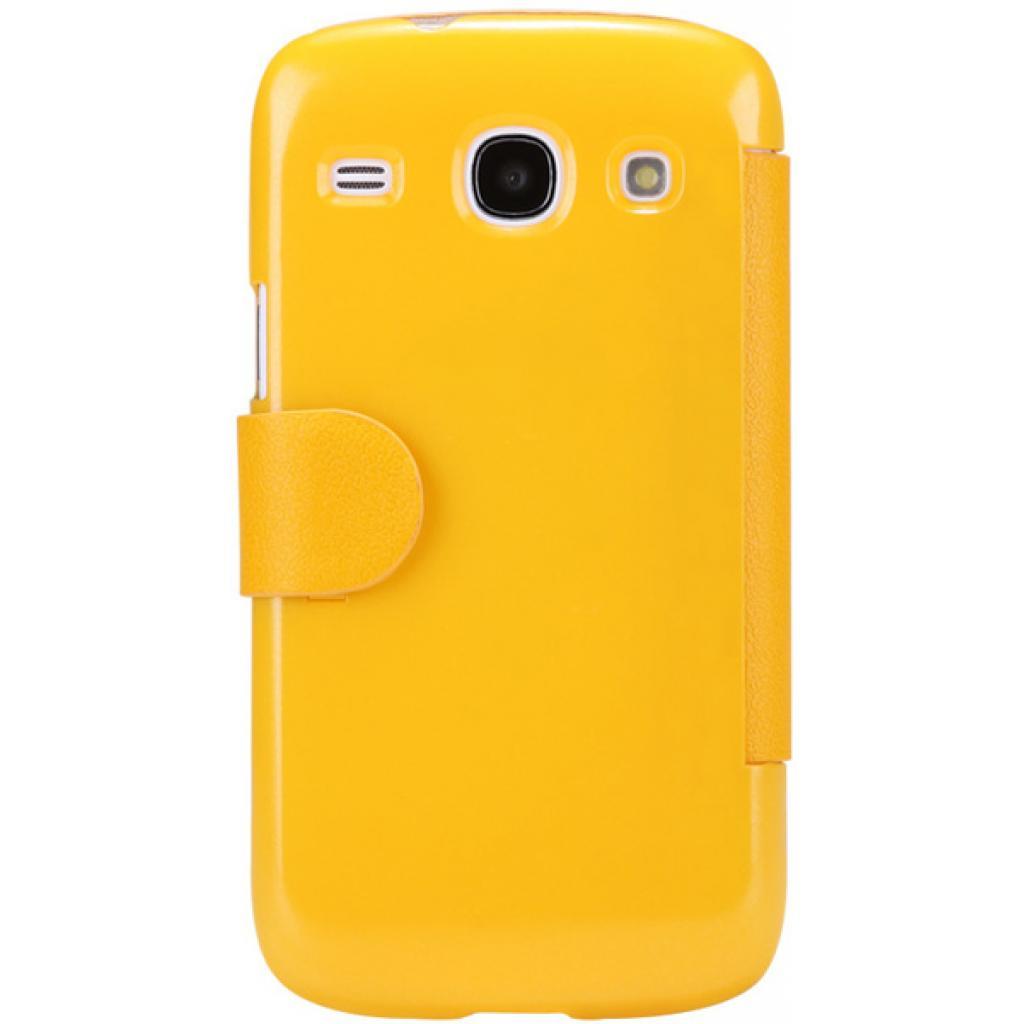 Чехол для моб. телефона NILLKIN для Samsung I8262 /Fresh/ Leather/Yellow (6076966) изображение 2