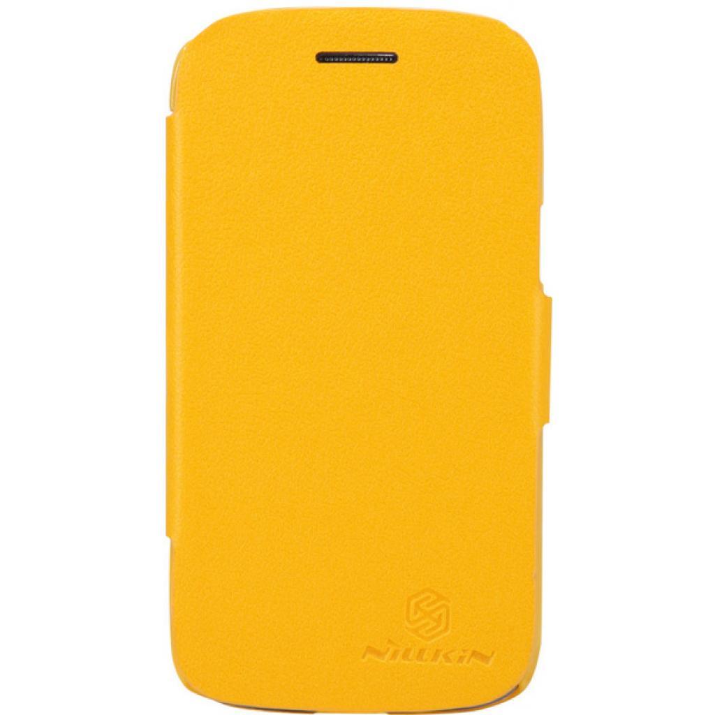 Чехол для моб. телефона NILLKIN для Samsung I8262 /Fresh/ Leather/Yellow (6076966)