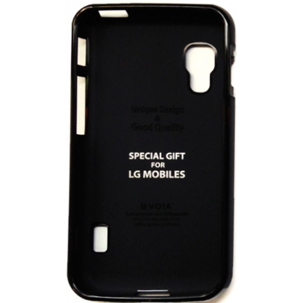 Чехол для моб. телефона VOIA для LG E455 Optimus L5II Dual /Jelly/Black (6068205)