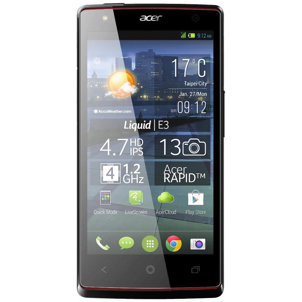 Мобильный телефон Acer Liquid E3 Duo E380 Silver (HM.HE2EE.003) изображение 2