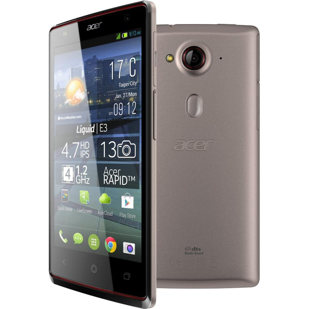 Мобильный телефон Acer Liquid E3 Duo E380 Silver (HM.HE2EE.003)