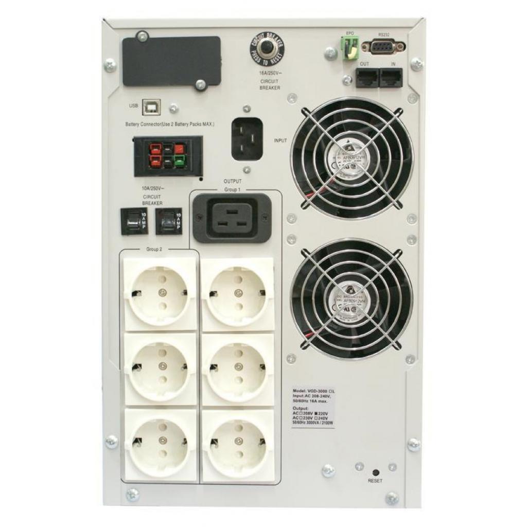 Источник бесперебойного питания Powercom VGD-2000 изображение 3