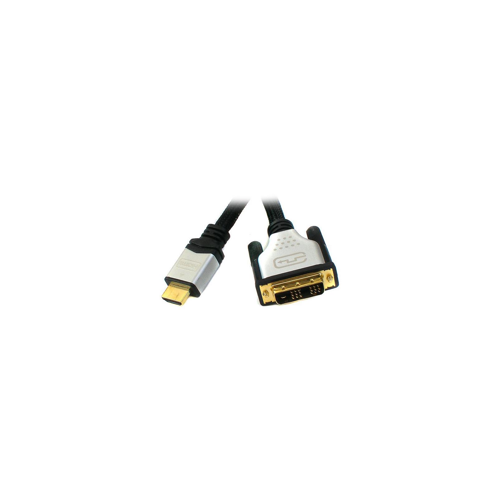 Кабель мультимедийный HDMI to DVI 18+1pin M, 3.0m Viewcon (VD 103-3m.)