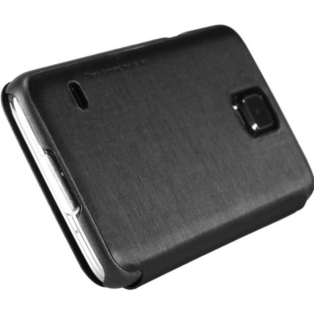Чехол для моб. телефона NILLKIN для Samsung G900/S-5/Rain/ Leather/Black (6135320) изображение 5