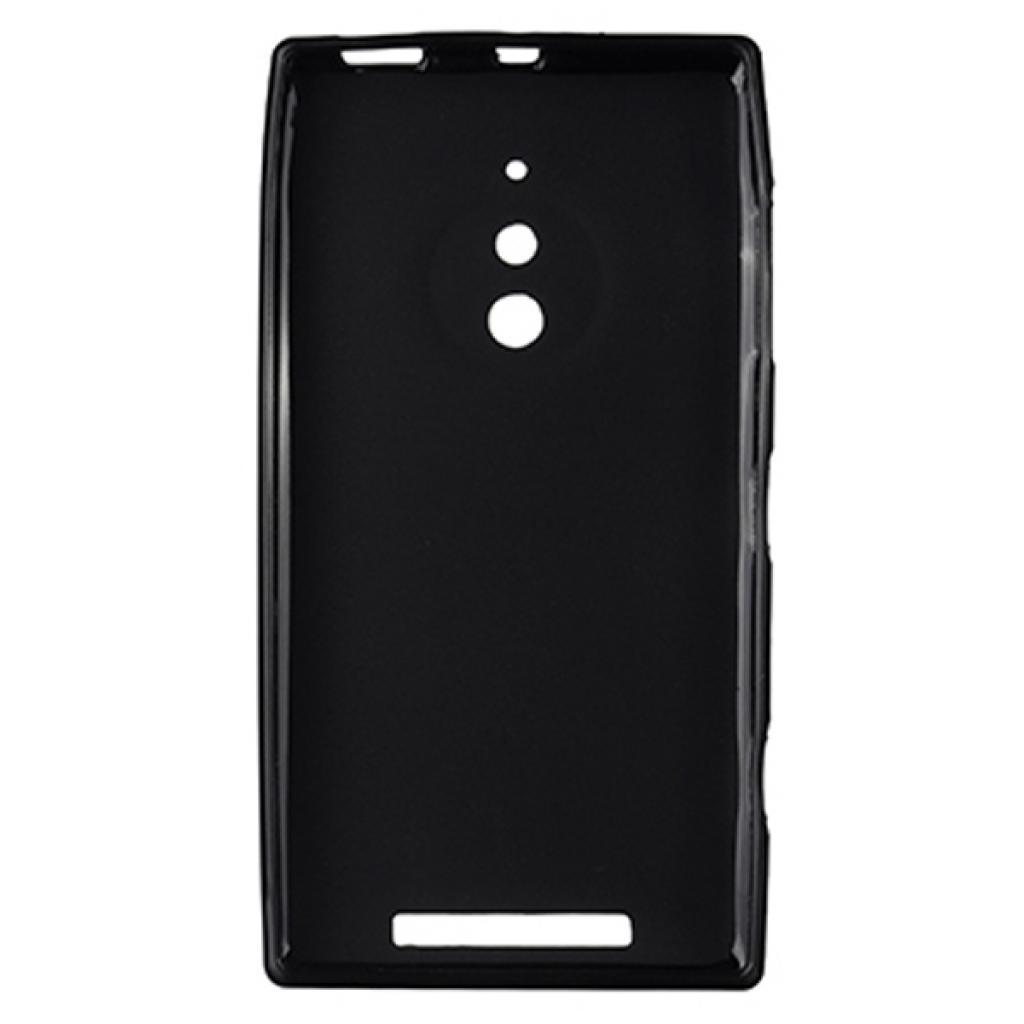 Чехол для моб. телефона Drobak для Nokia Lumia 830 Black /Elastic PU/ (215172) (215172) изображение 2