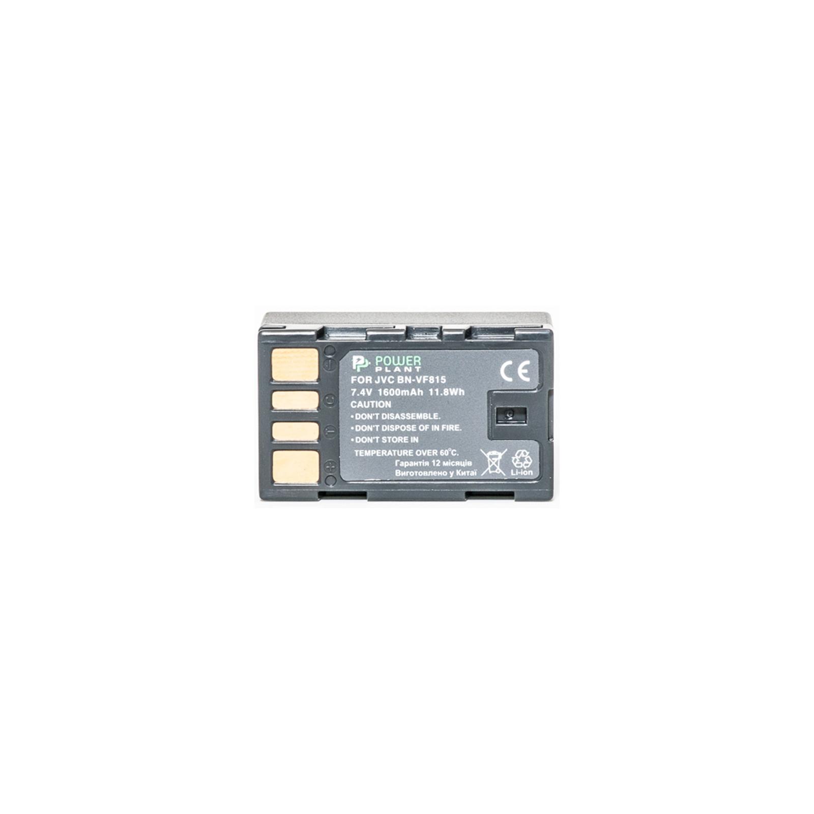 Аккумулятор к фото/видео PowerPlant JVC BN-VF815 (DV00DV1221) изображение 2