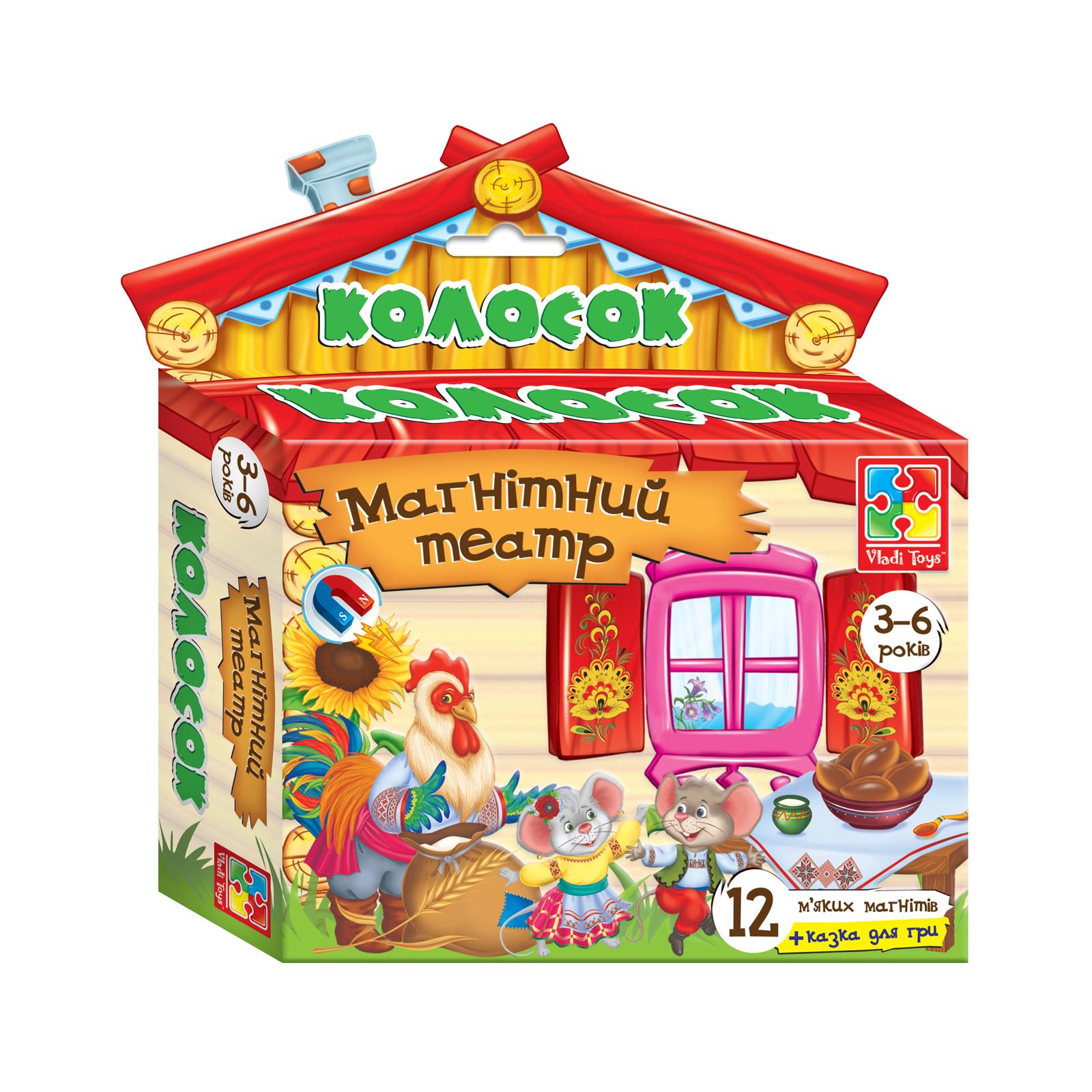 Настольная игра Vladi Toys Магнитный театр Колосок (VT3206-14)