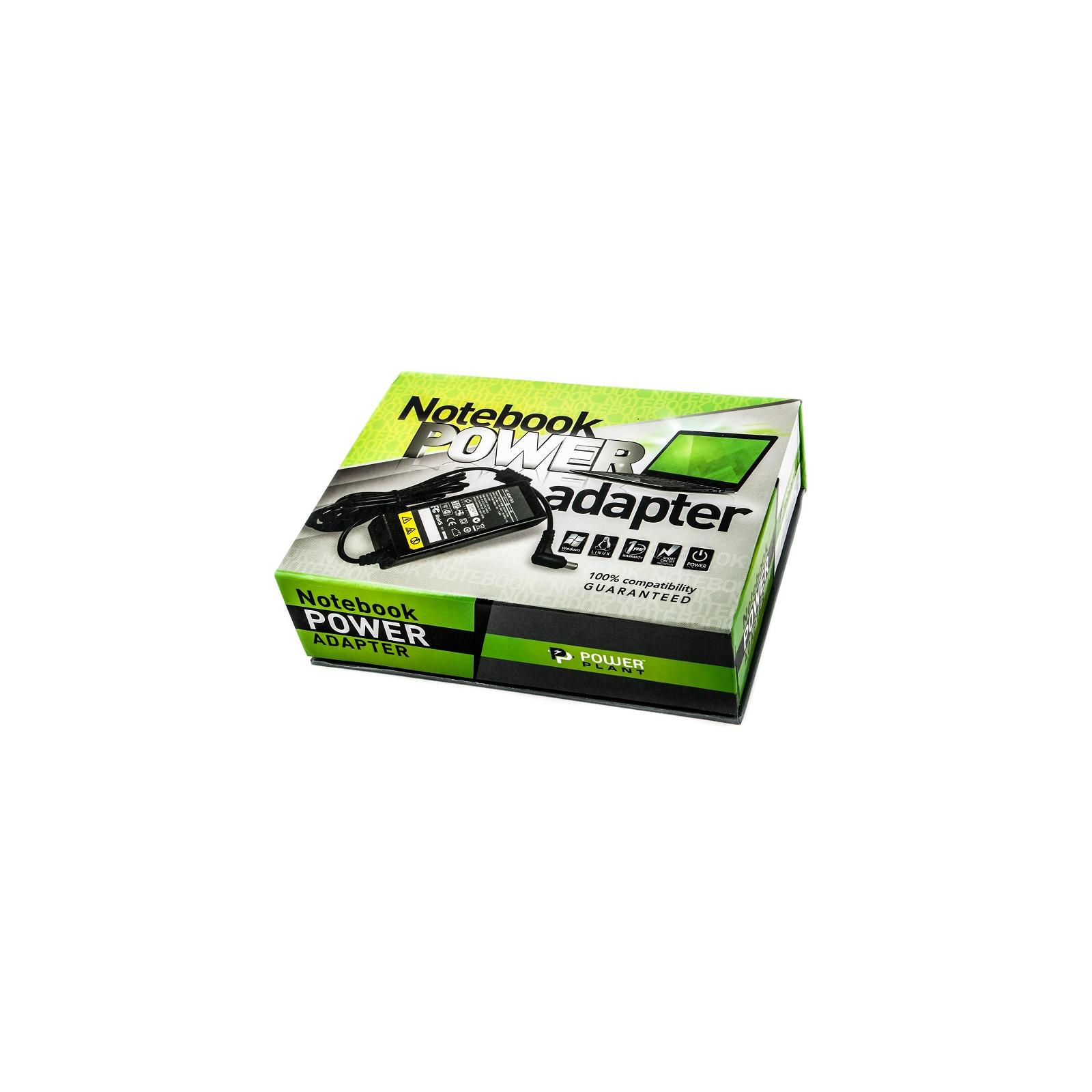 Блок питания к ноутбуку PowerPlant HP 12V, 19.5V 40W 2.05A (4.0*1.7) автомобильный (HPA40G4015) изображение 2