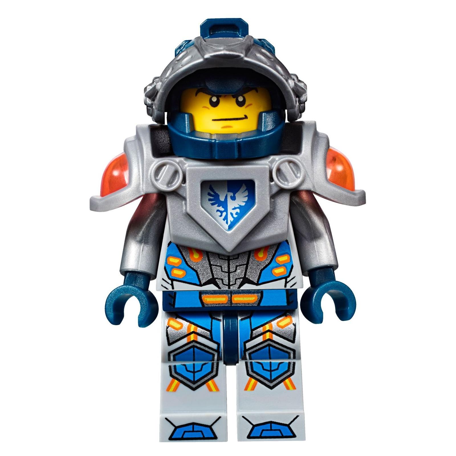 Конструктор LEGO Nexo Knights Устрашающий разрушитель Клэя (70315) изображение 11