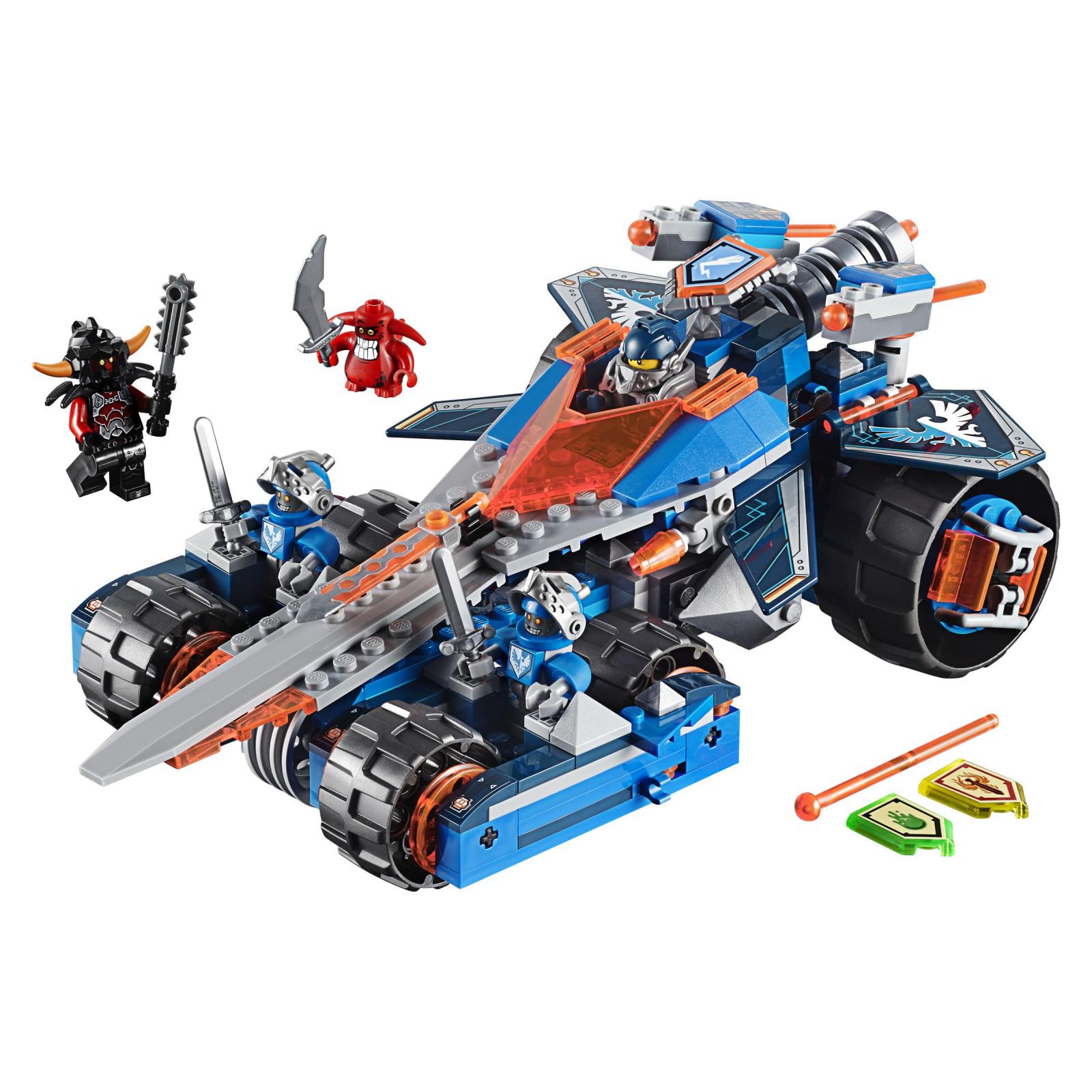 Конструктор LEGO Nexo Knights Устрашающий разрушитель Клэя (70315) изображение 2