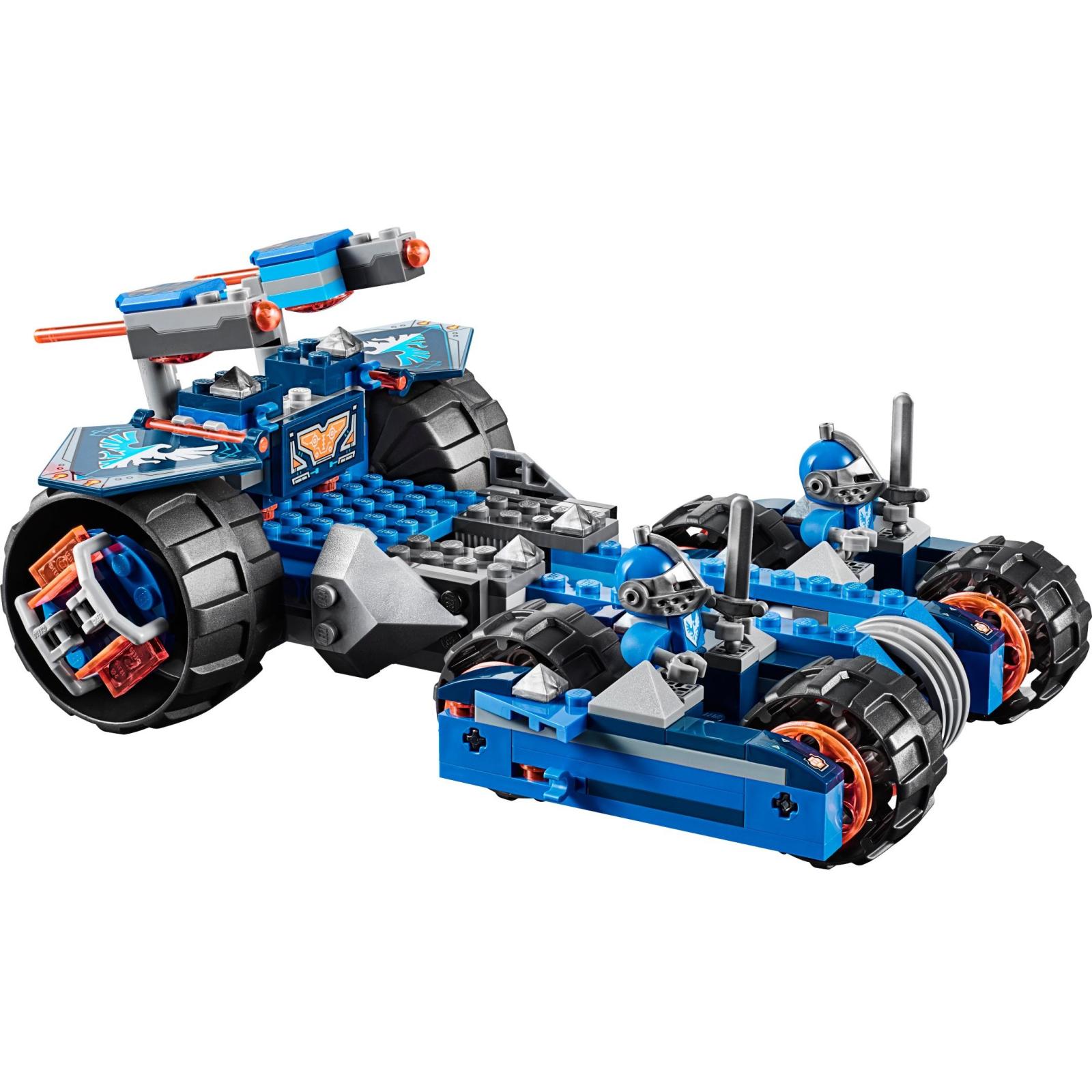 Конструктор LEGO Nexo Knights Устрашающий разрушитель Клэя (70315) изображение 3
