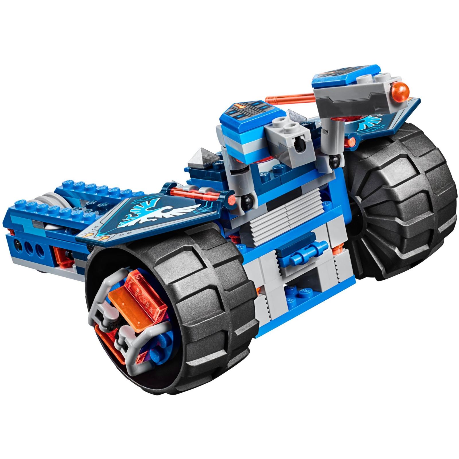 Конструктор LEGO Nexo Knights Устрашающий разрушитель Клэя (70315) изображение 5