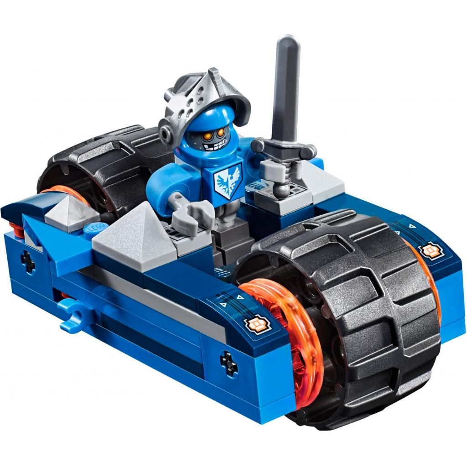 Конструктор LEGO Nexo Knights Устрашающий разрушитель Клэя (70315) изображение 6