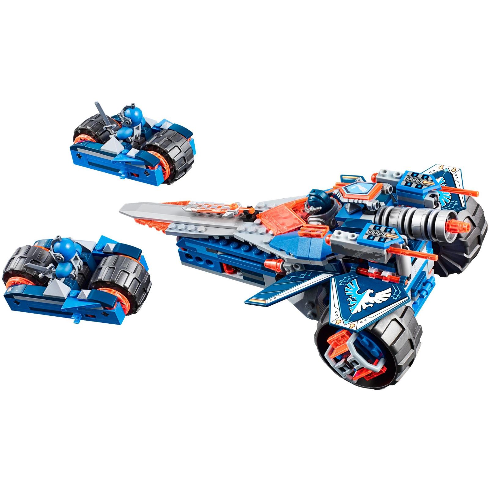 Конструктор LEGO Nexo Knights Устрашающий разрушитель Клэя (70315) изображение 7