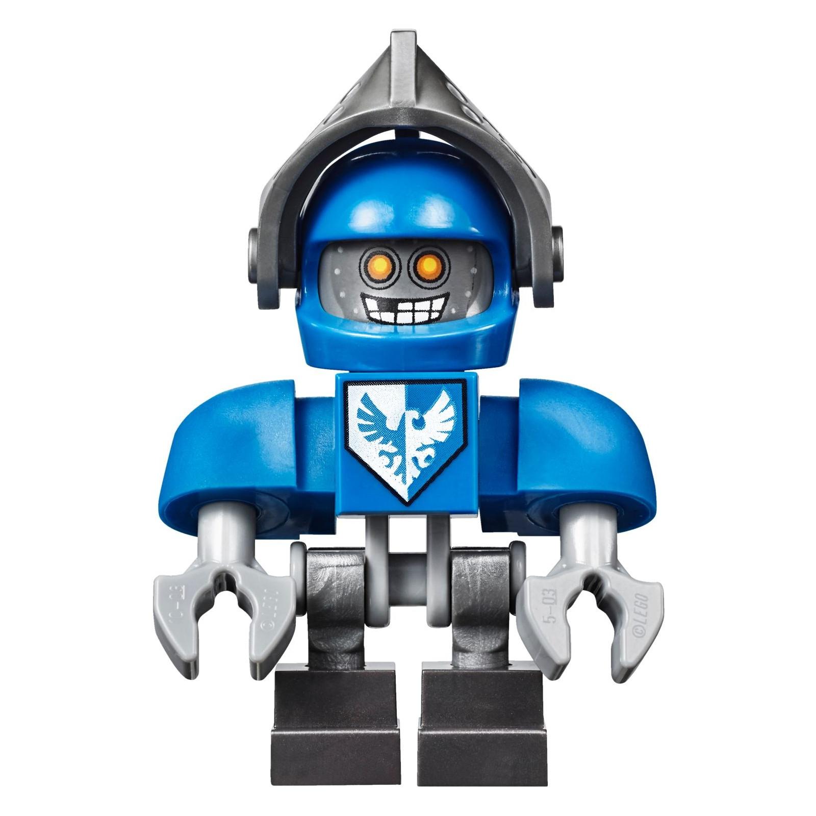 Конструктор LEGO Nexo Knights Устрашающий разрушитель Клэя (70315) изображение 9