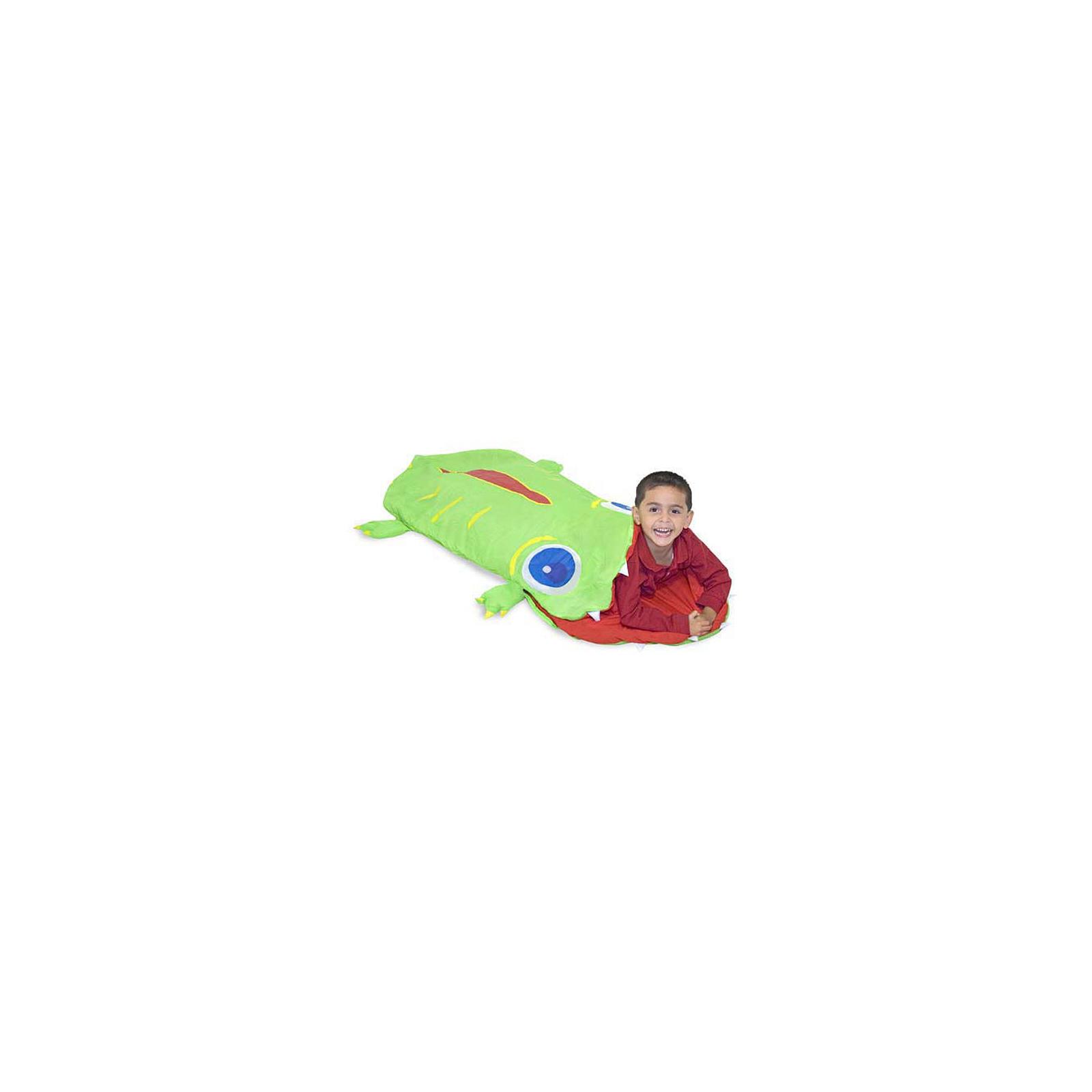 Игровой набор Melissa&Doug Спальный мешок Крокодильчик Оги (MD16208) изображение 2