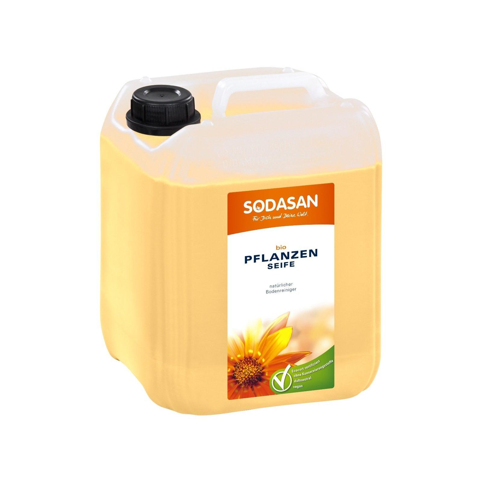 Моющая жидкость для уборки Sodasan для полов и стен 5 л (4019886000789)