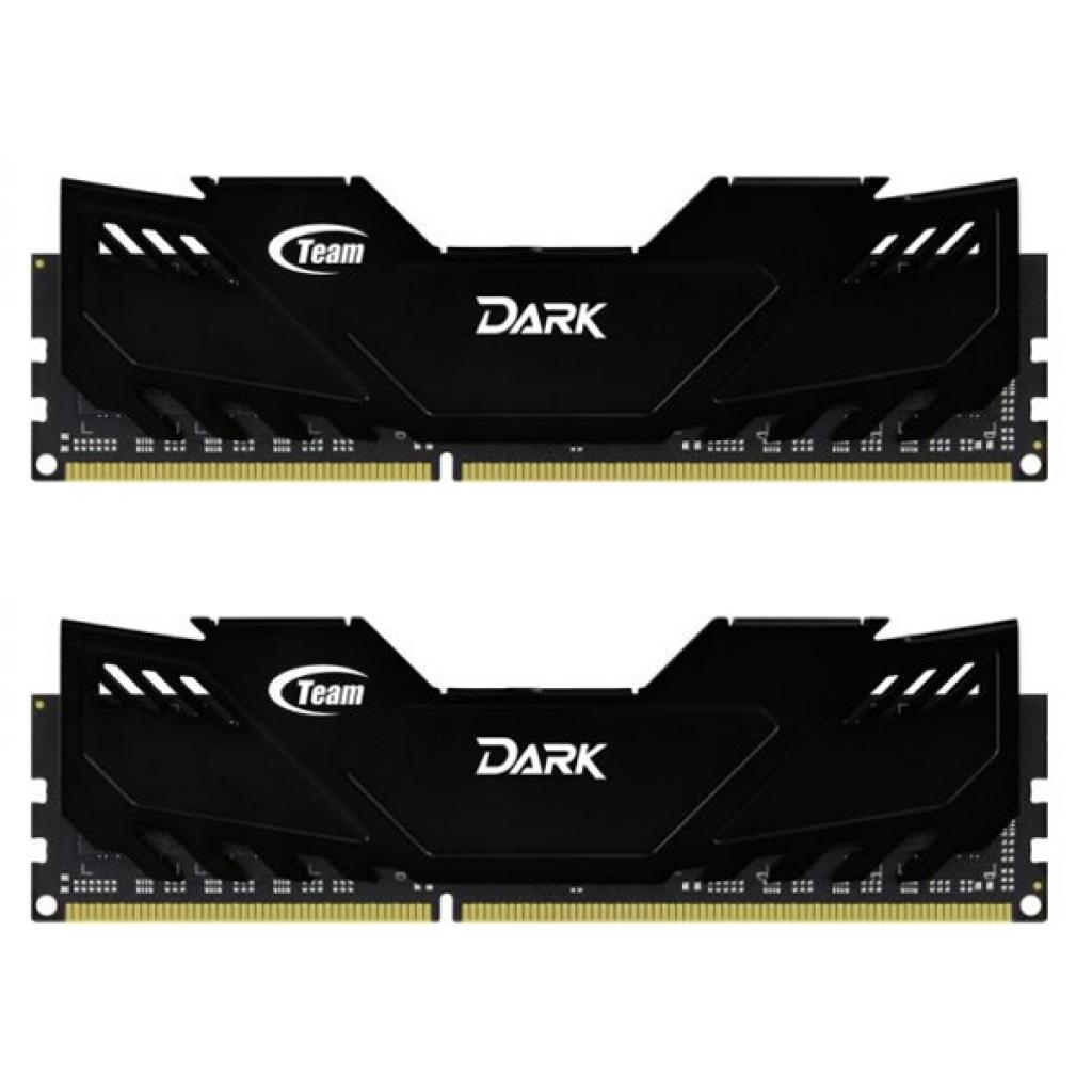 Модуль памяти для компьютера DDR4 16GB (2x8GB) 2800 MHz Dark Black Team (TDKED416G2800HC16ADC01)