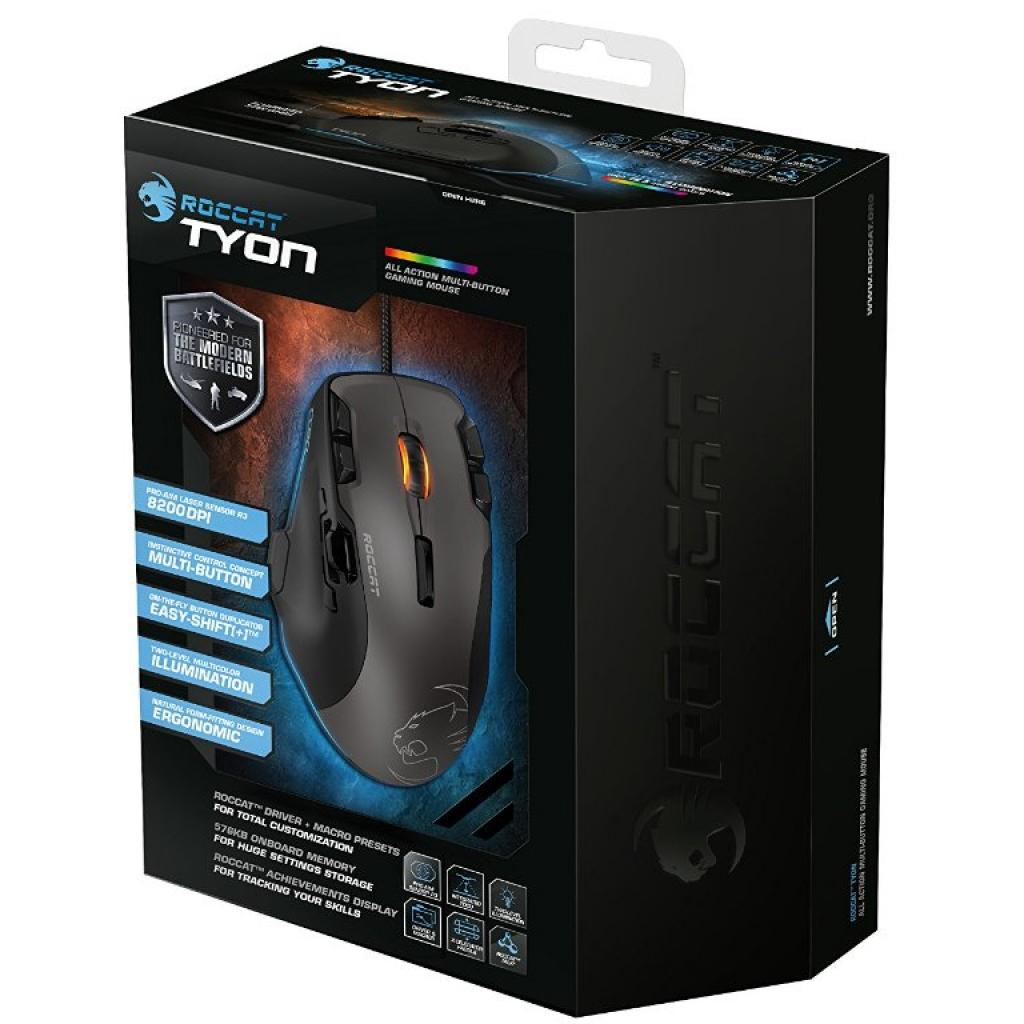 Мышка Roccat Tyon - All Action Multi-Button Gaming Mouse, Black (ROC-11-850) изображение 10