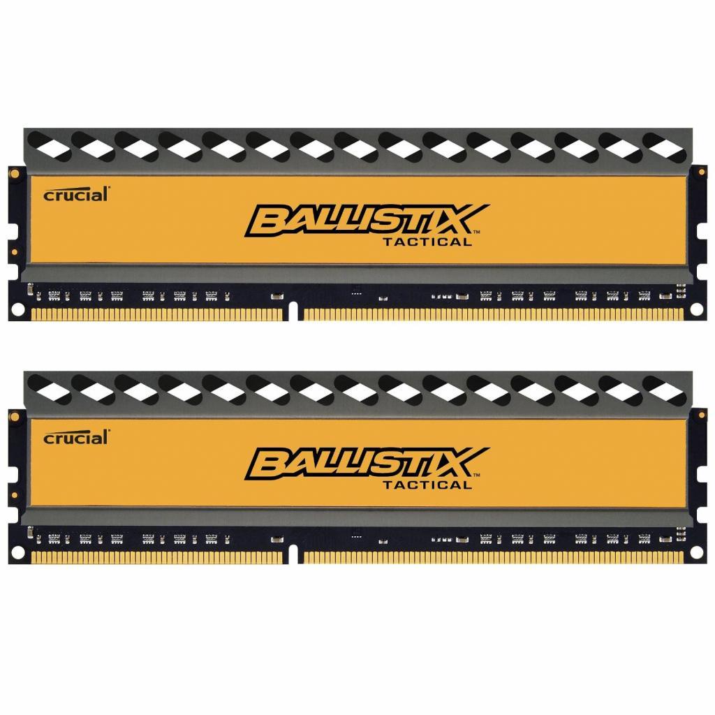 Модуль памяти для компьютера DDR3 16GB (2x8GB) 1600 MHz BallistiX Tactical MICRON (BLT2CP8G3D1608DT1TX0CEU)
