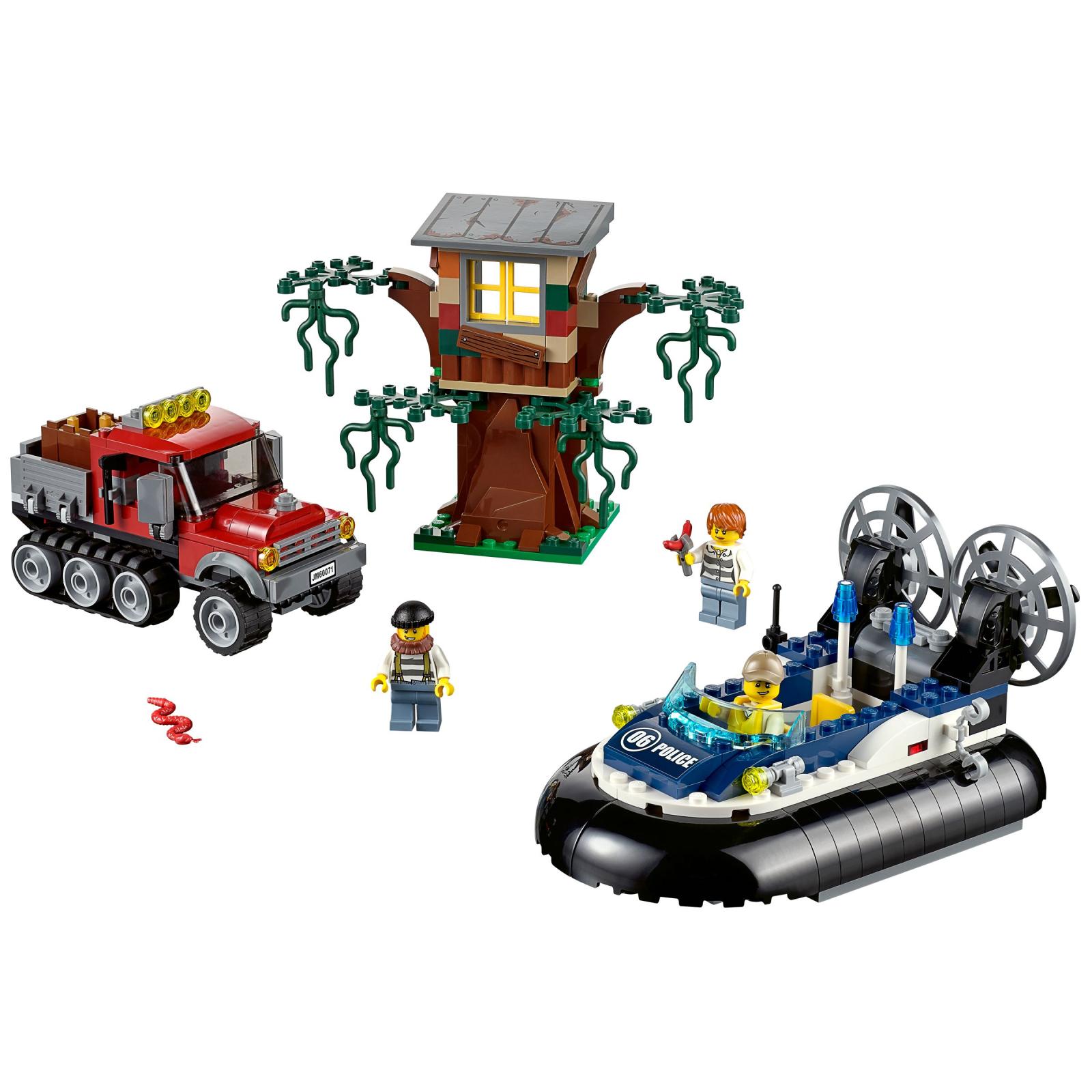 Конструктор LEGO City Полицейский корабль на воздушной подушке (60071) изображение 2