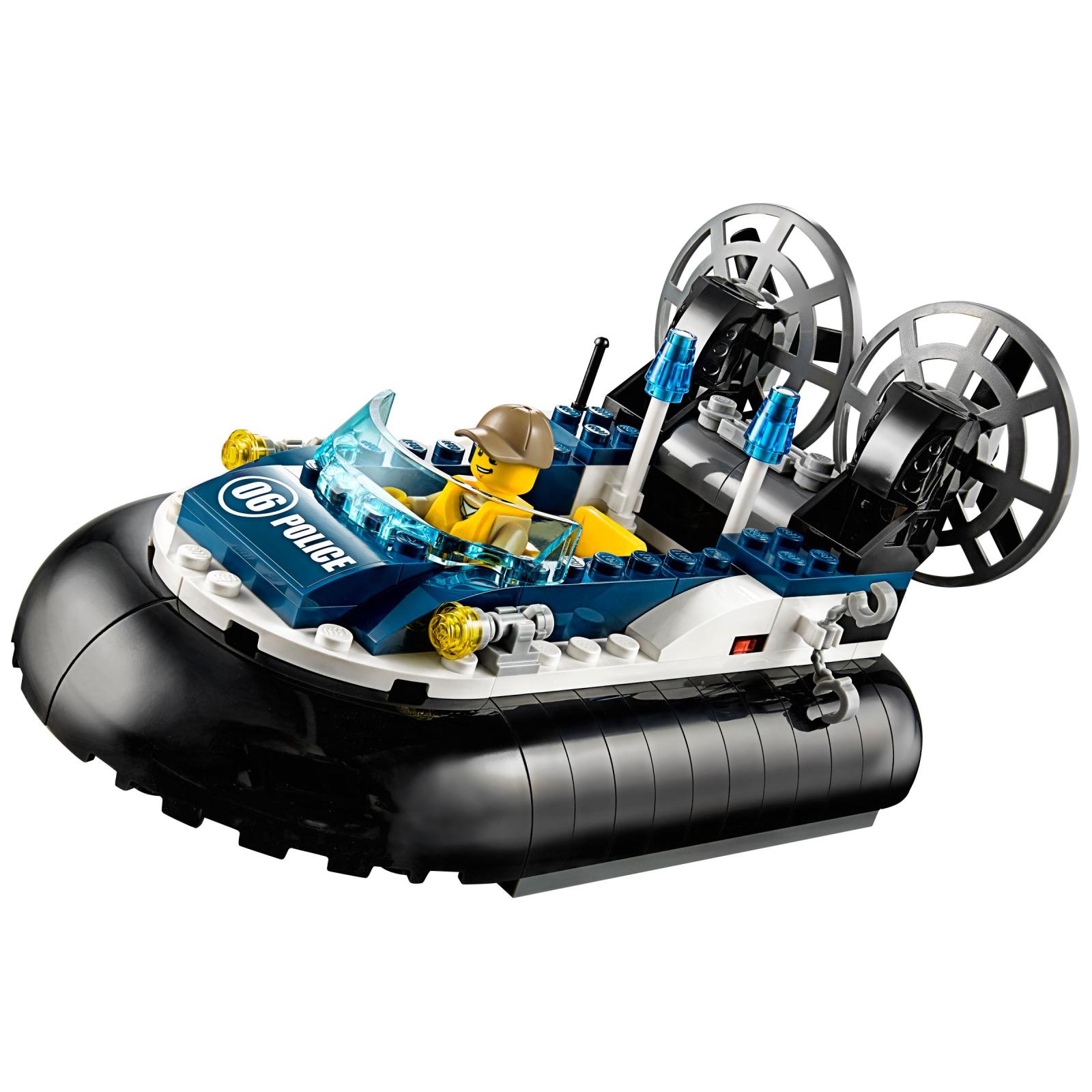 Конструктор LEGO City Полицейский корабль на воздушной подушке (60071) изображение 3