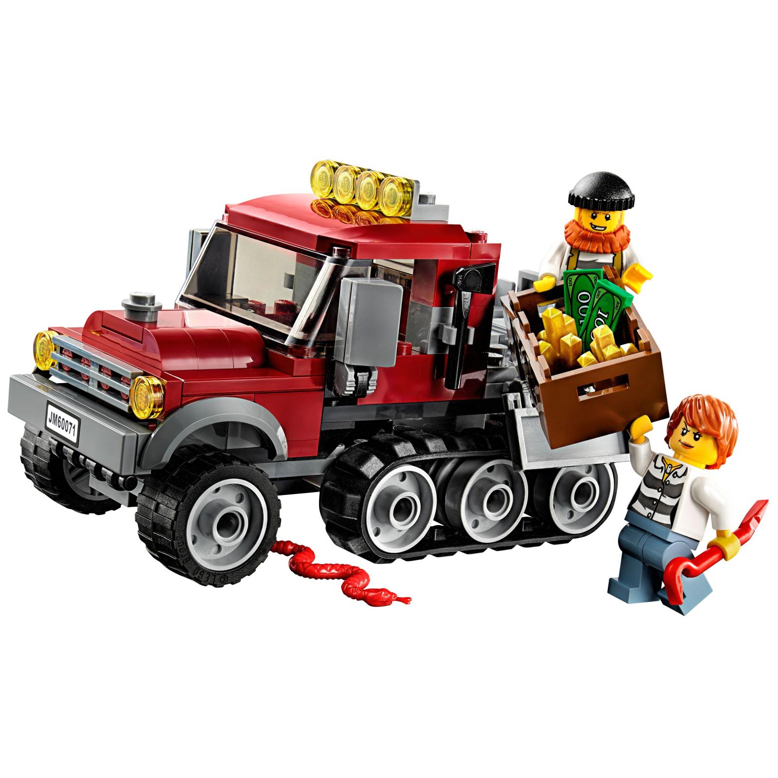 Конструктор LEGO City Полицейский корабль на воздушной подушке (60071) изображение 4