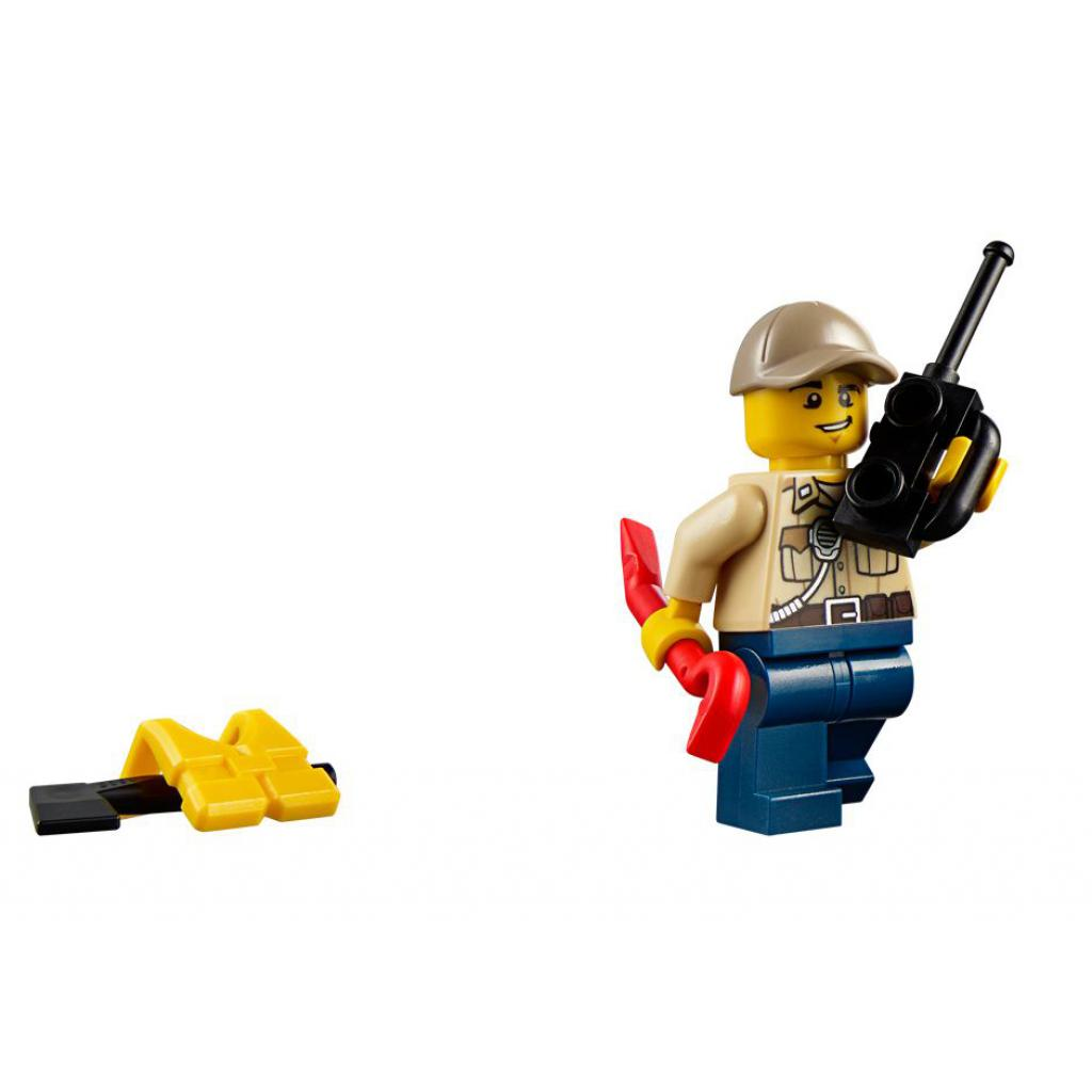 Конструктор LEGO City Полицейский корабль на воздушной подушке (60071) изображение 8