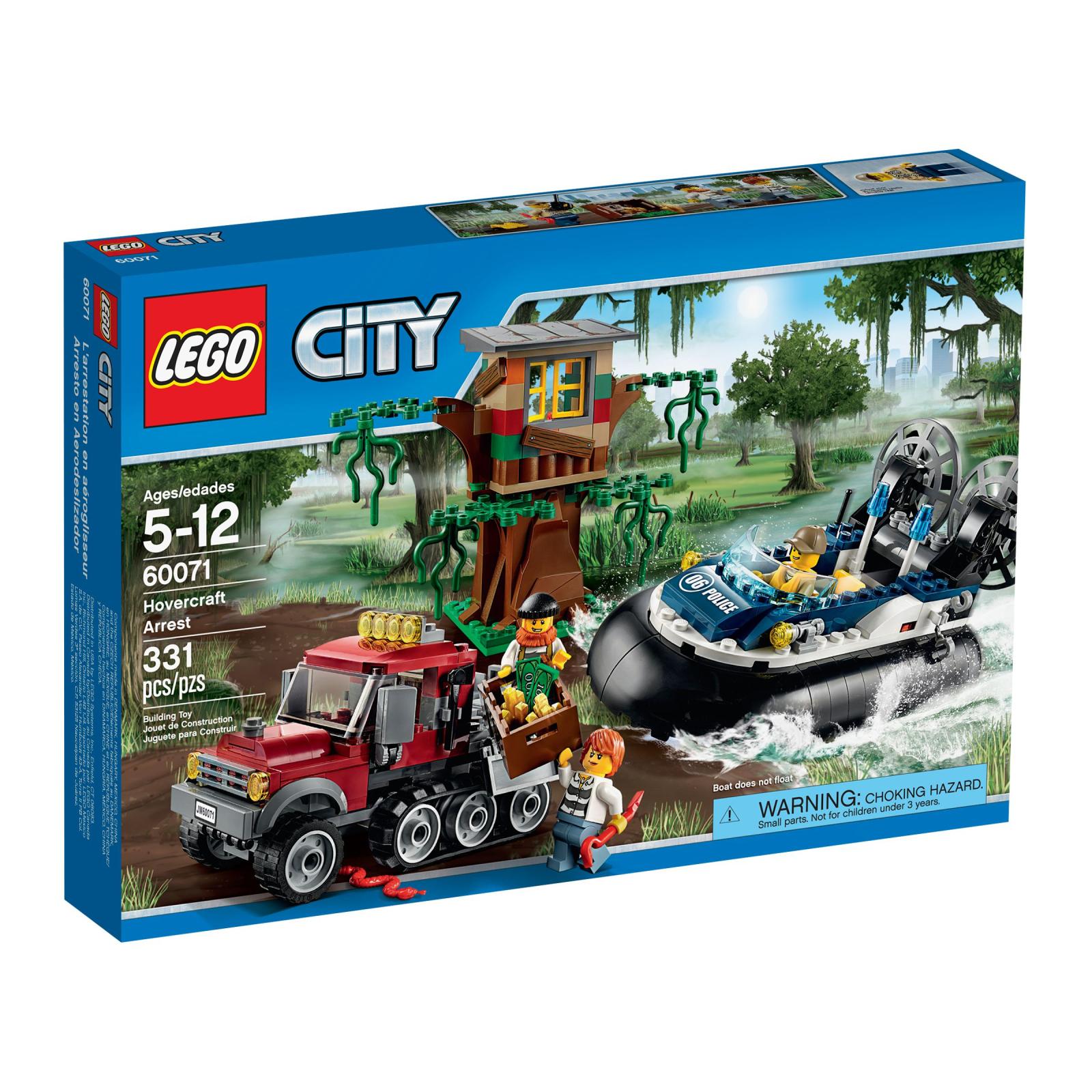 Конструктор LEGO City Полицейский корабль на воздушной подушке (60071)