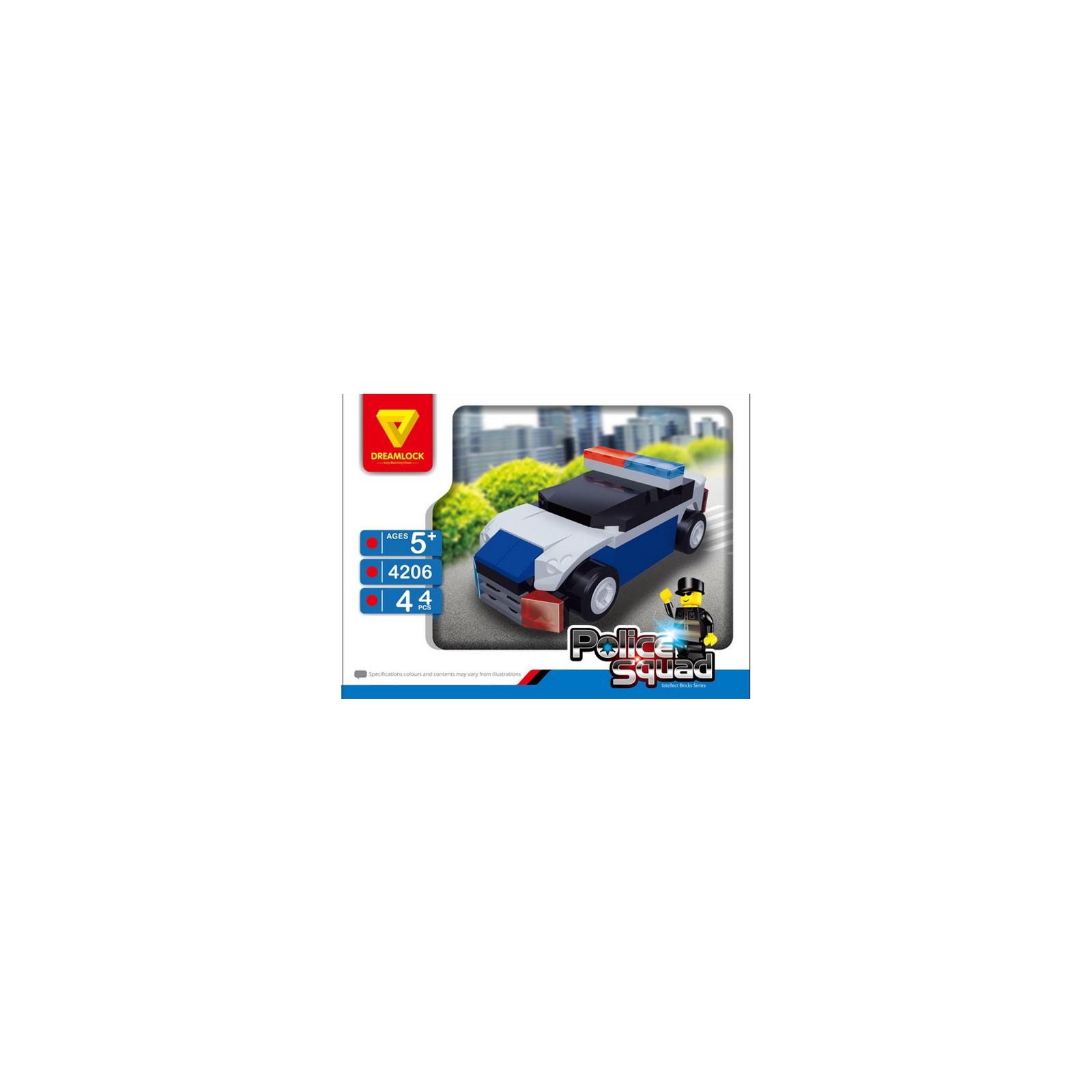Конструктор DREAMLOCK Полицейский отряд Полицейская машина (4206)