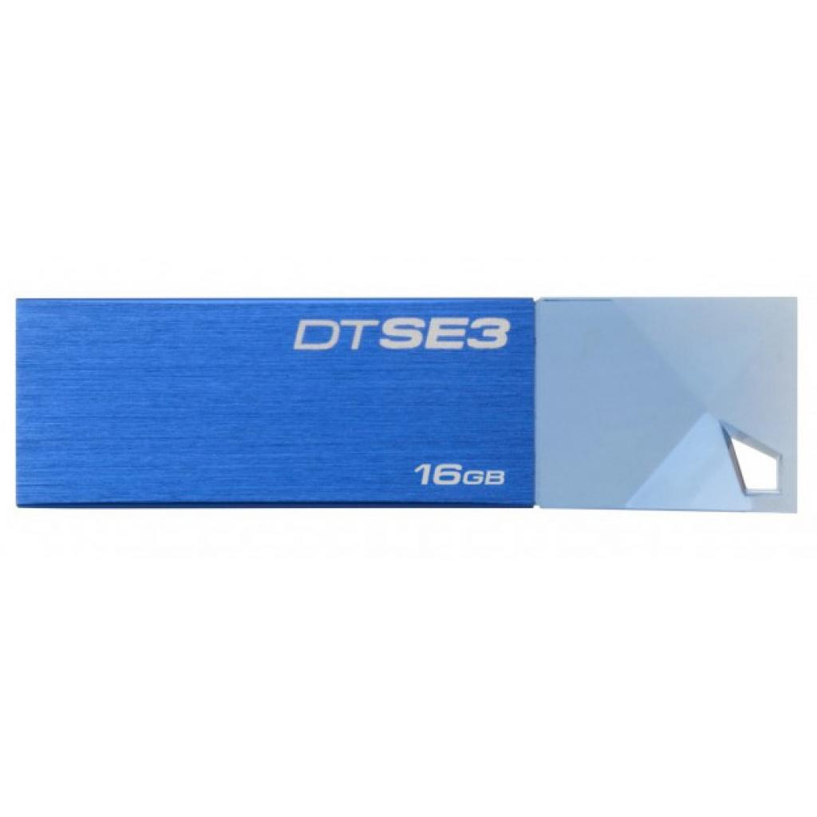 USB флеш накопитель Kingston 16GB DTSE3 Metalic Blue USB 2.0 (KC-U6816-4C1B)