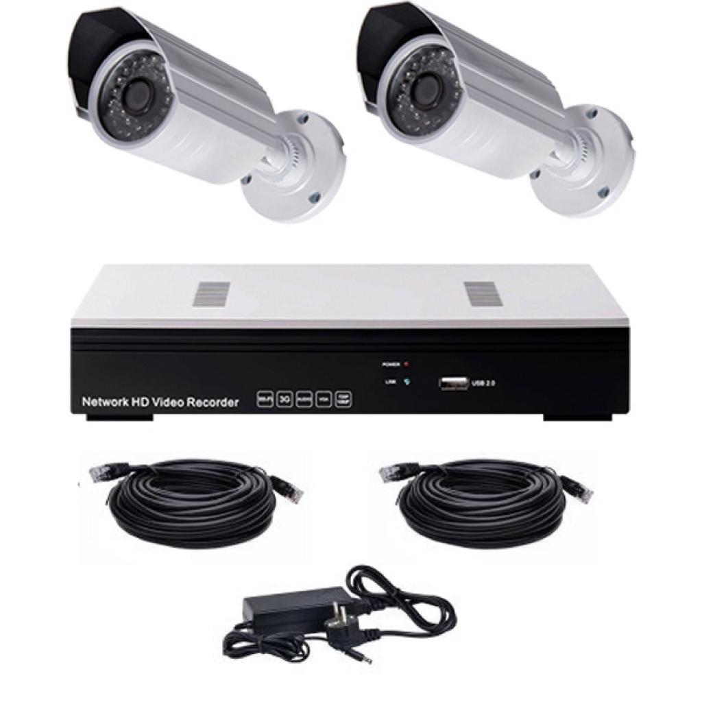 Комплект видеонаблюдения CoVi NVK-2002 POE MINI KIT