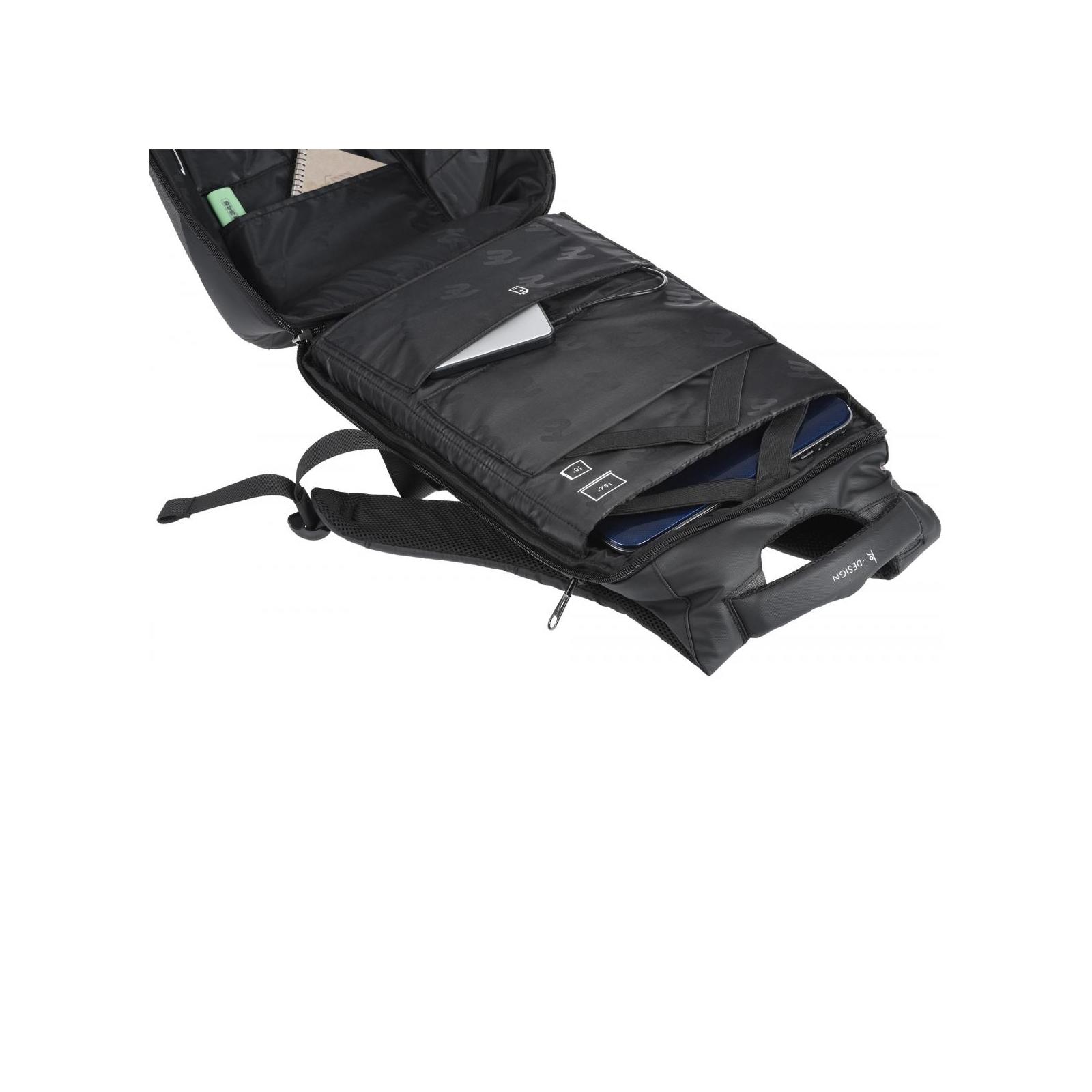 "Рюкзак для ноутбука 2E 16"" BPK63148 Black (2E-BPK63148BK) изображение 7"