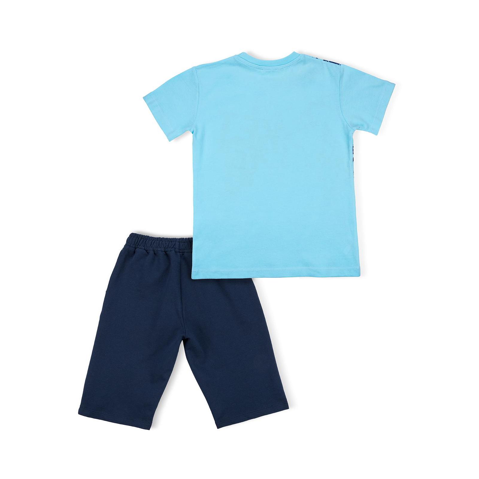 """Футболка детская Breeze с шортами """"XFT"""" (10925-146B-blue) изображение 4"""