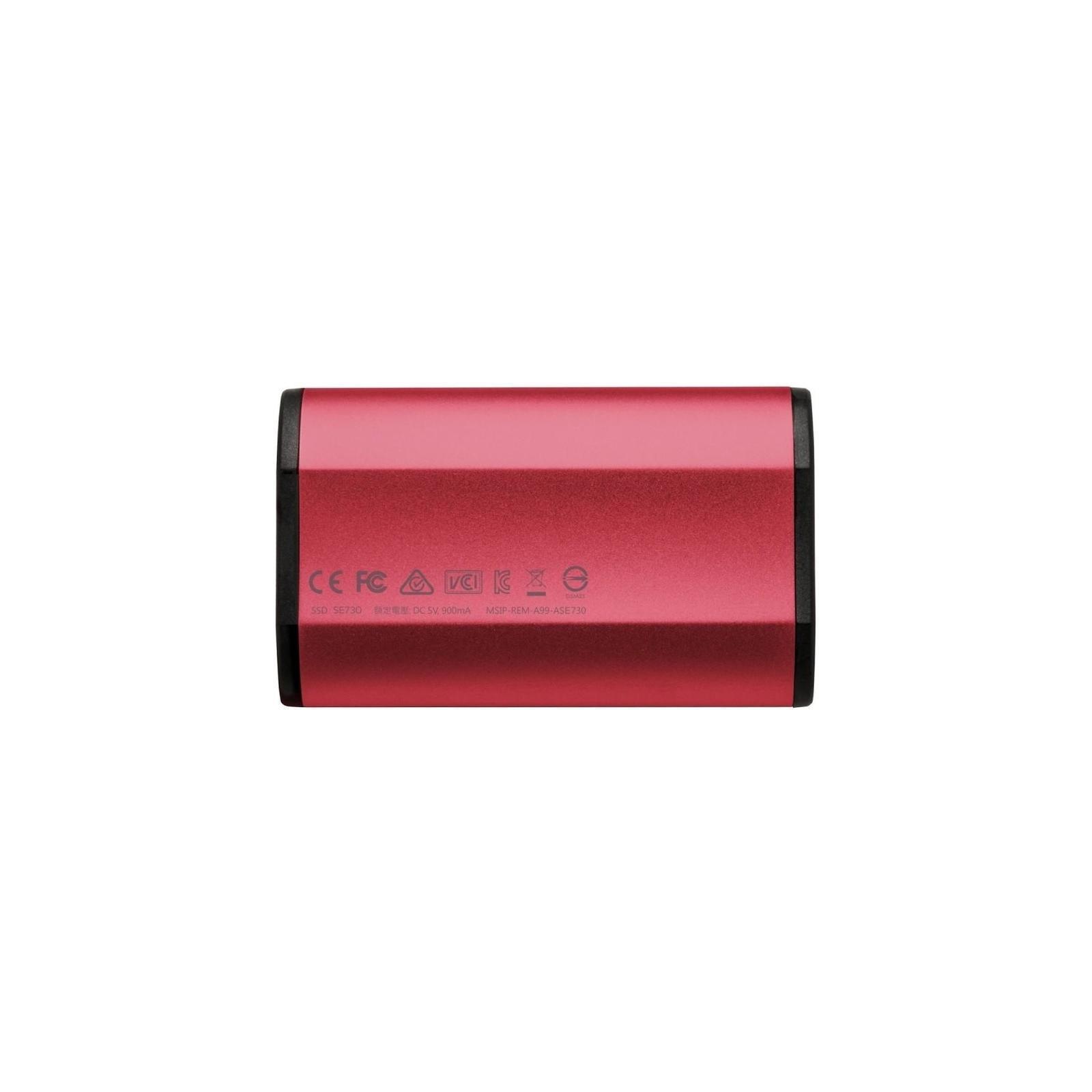Накопитель SSD USB 3.1 512GB ADATA (ASE730H-512GU31-CRD) изображение 2
