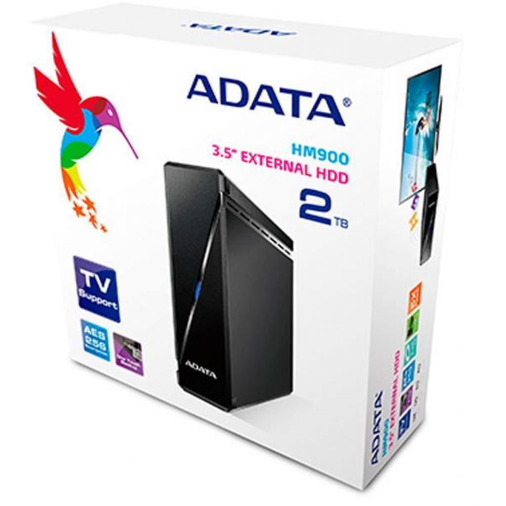 """Внешний жесткий диск 3.5"""" 2TB ADATA (AHM900-2TU3-CUSBK) изображение 5"""
