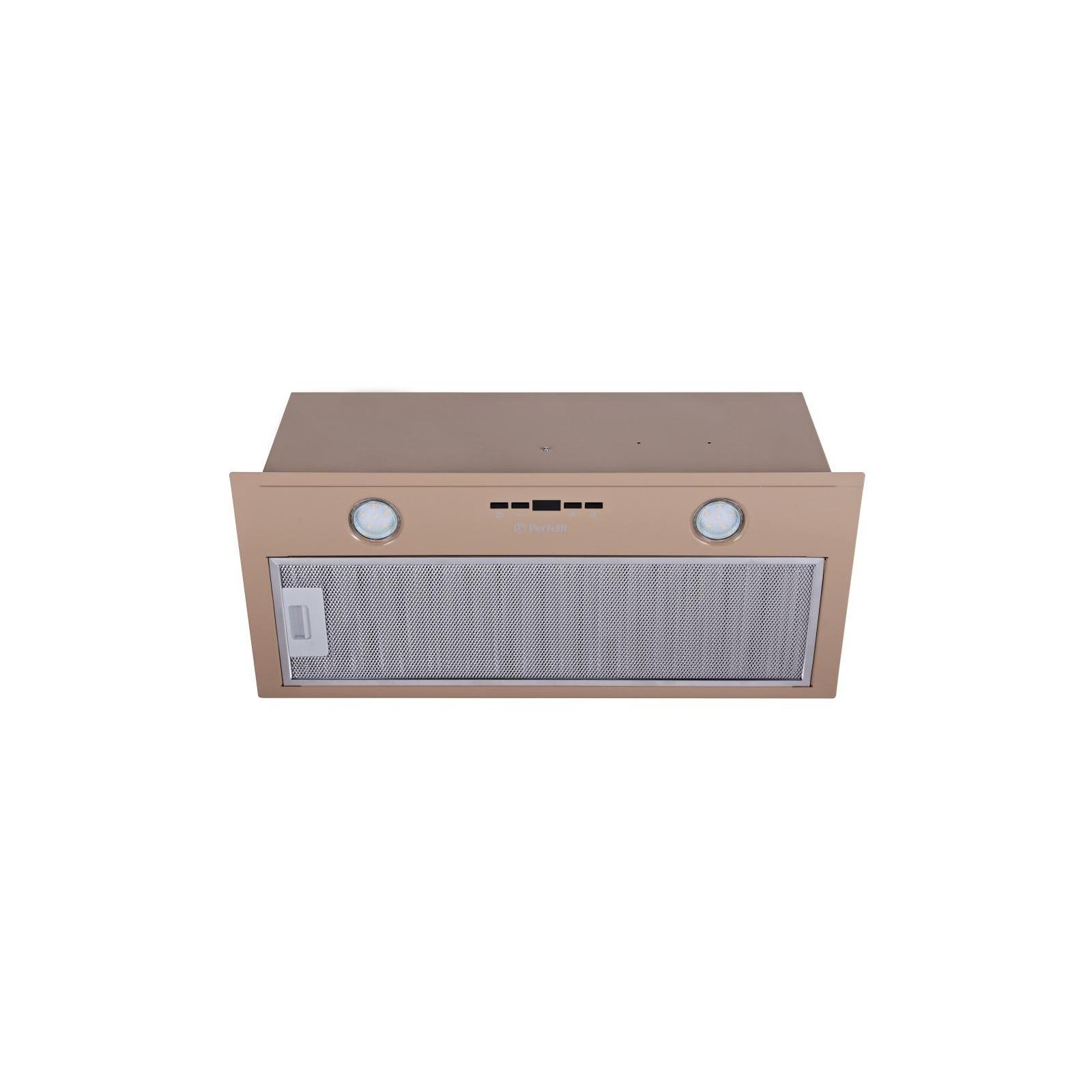 Вытяжка кухонная PERFELLI BIET 6512 A 1000 DARK IV LED