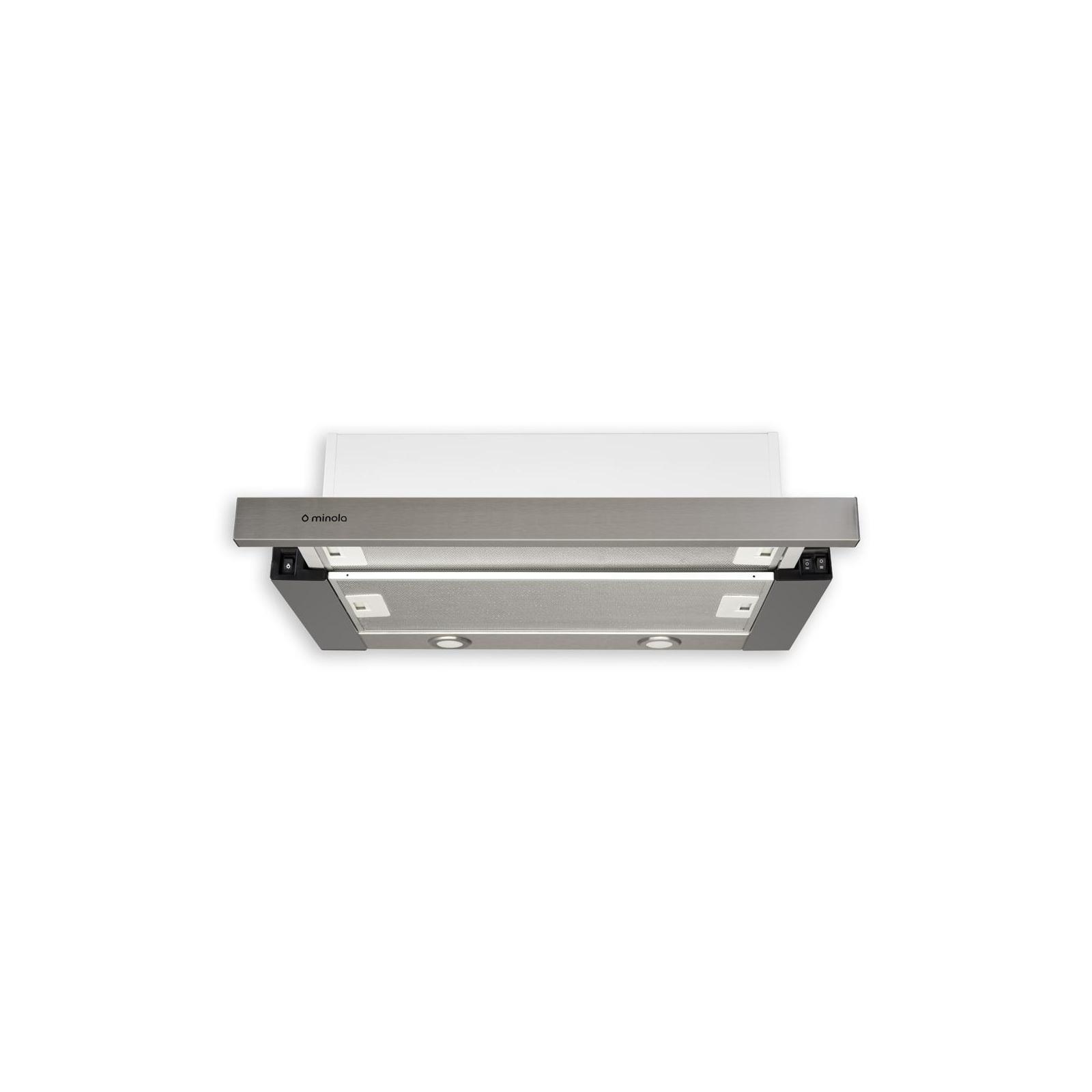 Вытяжка кухонная MINOLA HTL 6012 FULL INOX 450 LED изображение 2