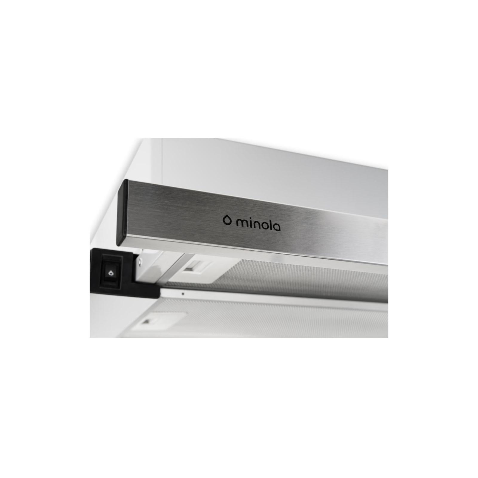 Вытяжка кухонная MINOLA HTL 6012 FULL INOX 450 LED изображение 4