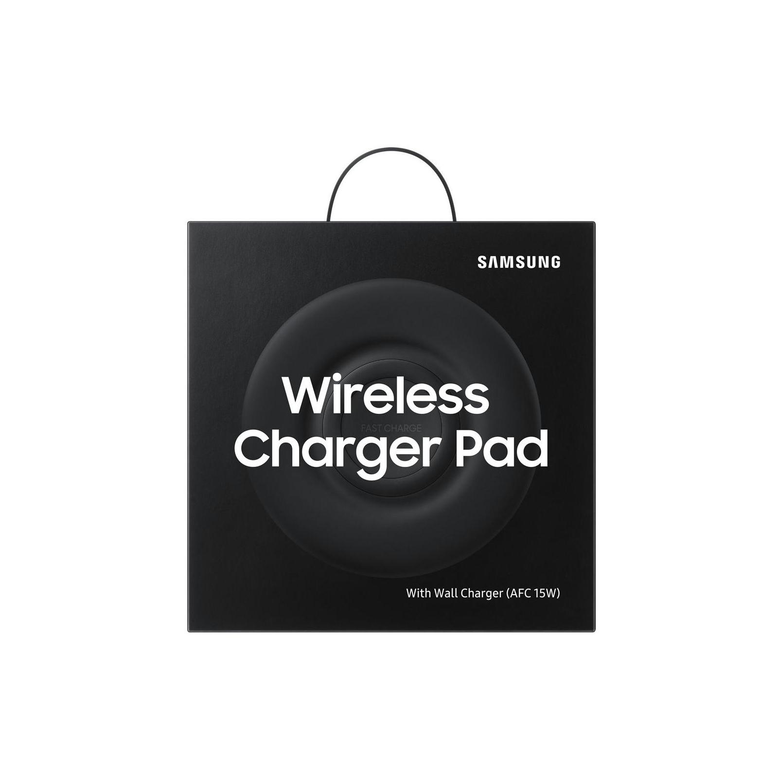 Зарядное устройство Samsung безпроводное Multi Wireless Charger Pad Black (EP-P3100TBRGRU) изображение 5