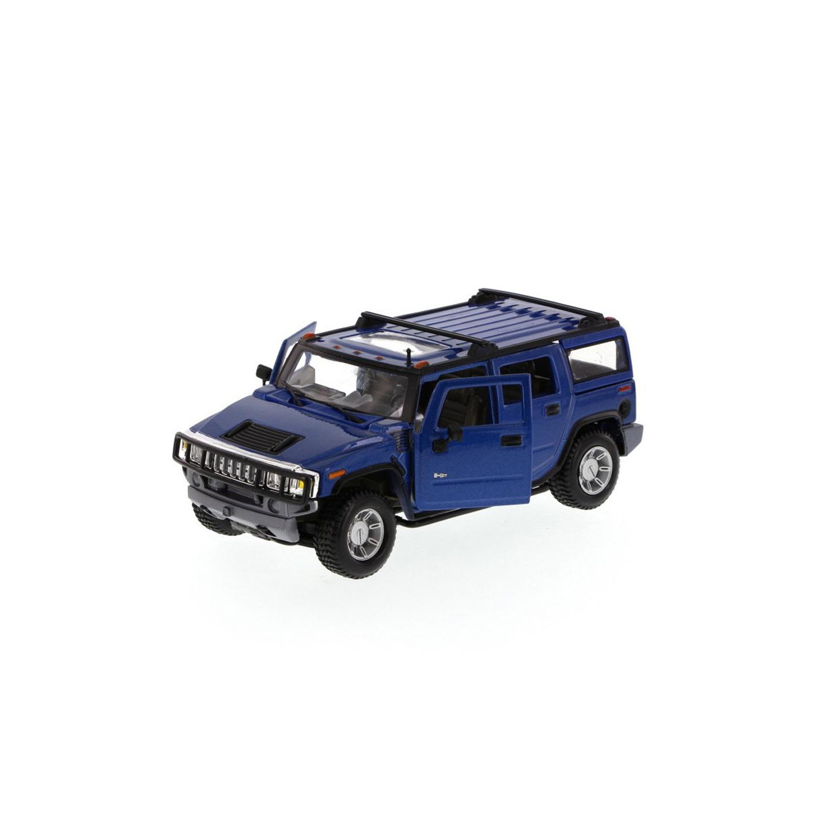 Машина Maisto Hummer H2 SUV 2003 (1:27) синий (31231 blue) изображение 4
