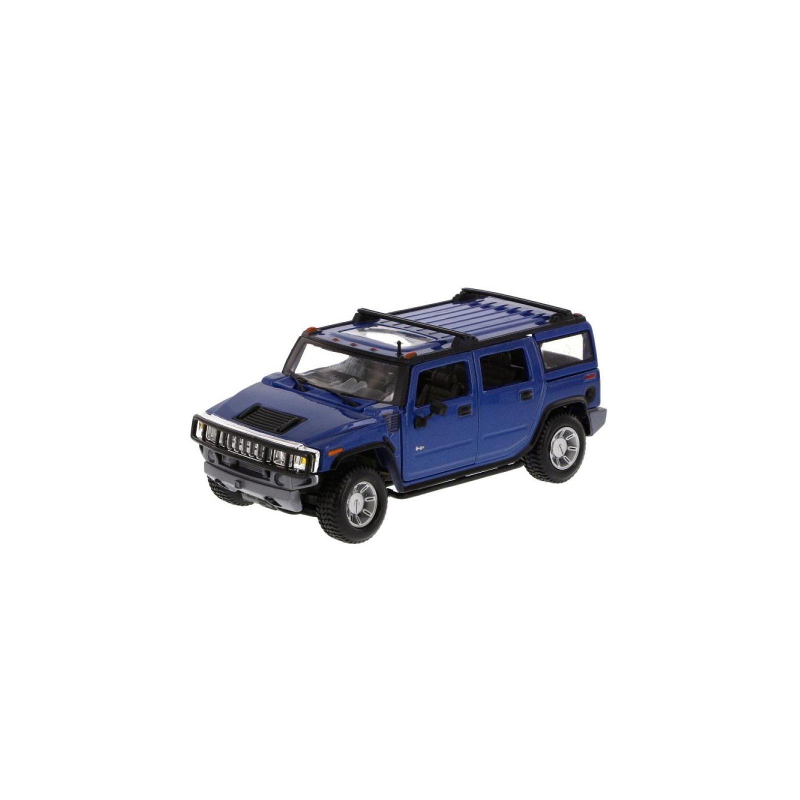 Машина Maisto Hummer H2 SUV 2003 (1:27) синий (31231 blue)