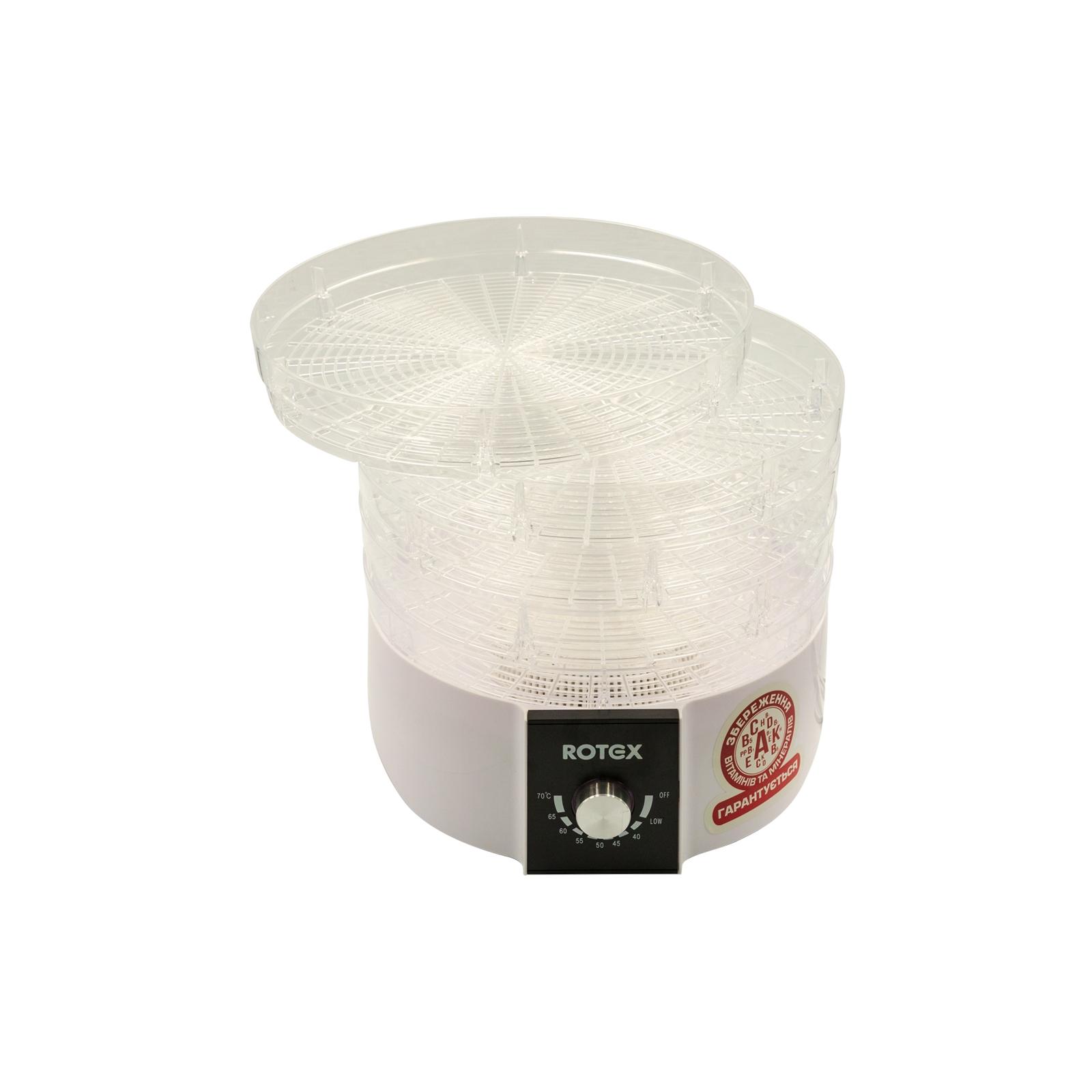 Сушка для овощей и фруктов Rotex RD610-W изображение 3