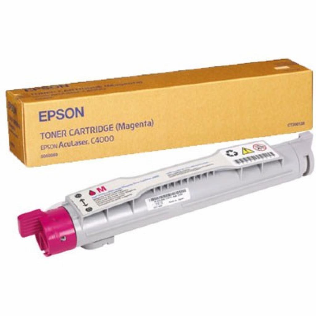 Картридж EPSON AcuLaser C4000 magenta (C13S050089)