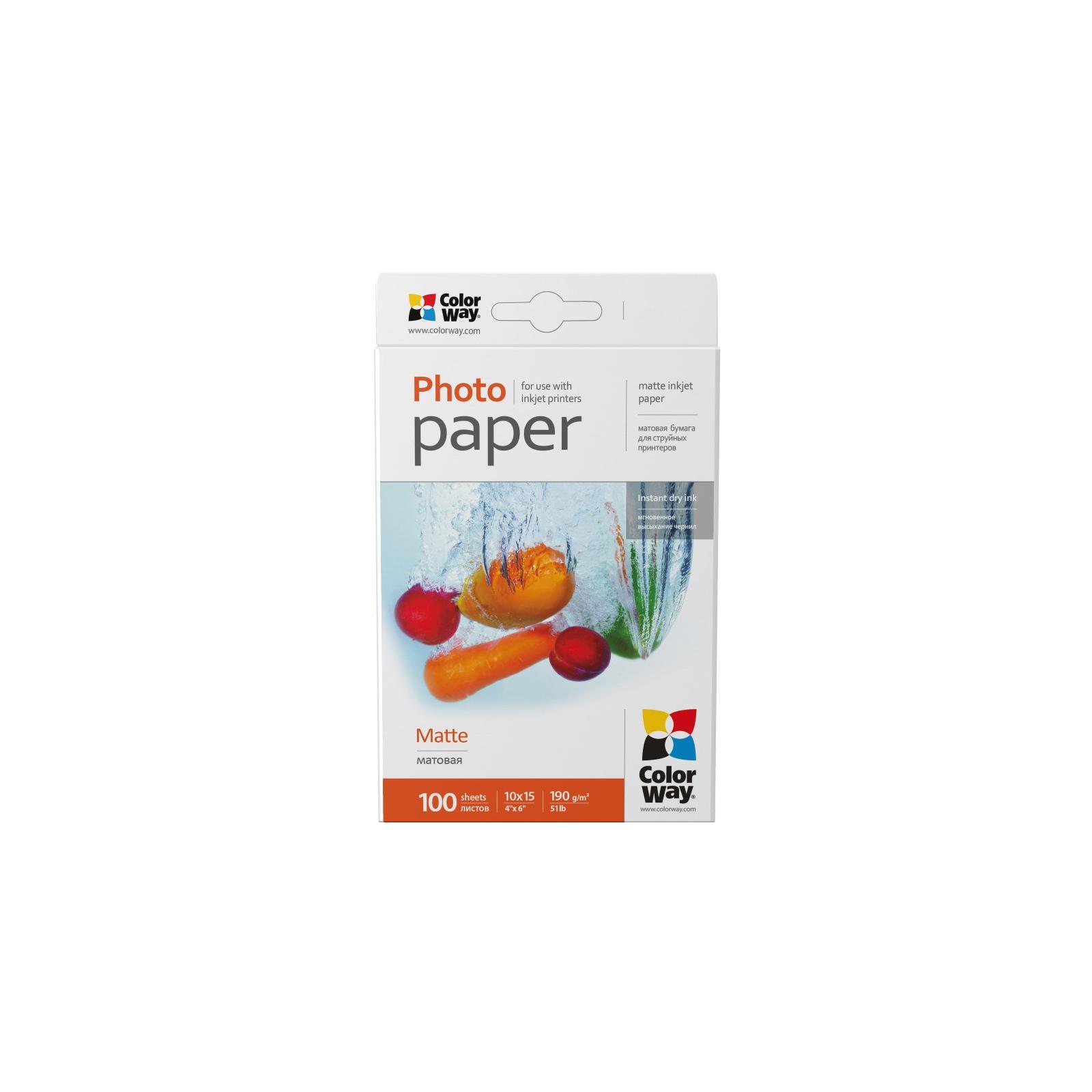 Бумага ColorWay 10x15 (PM1901004R)