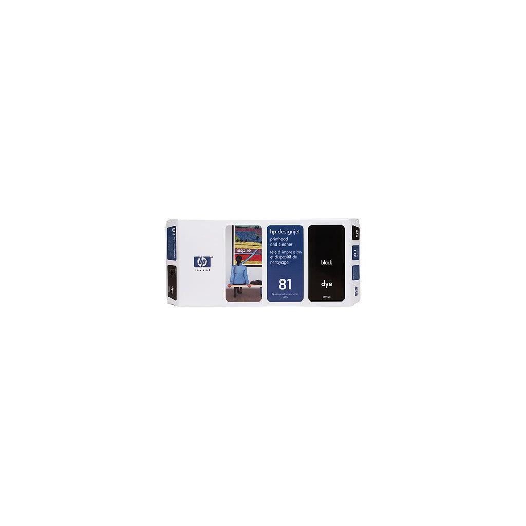 Печатающая головка HP №81 black DesignJ5000 (C4950A)