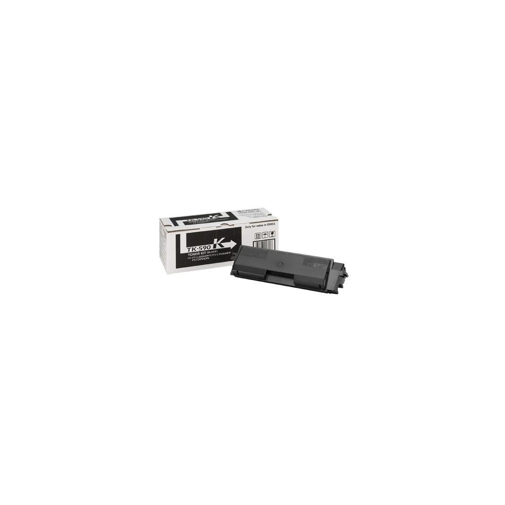 Тонер-картридж Kyocera TK-590K 7К black (FS-C2026/2126/5250) (1T02KV0NL0)
